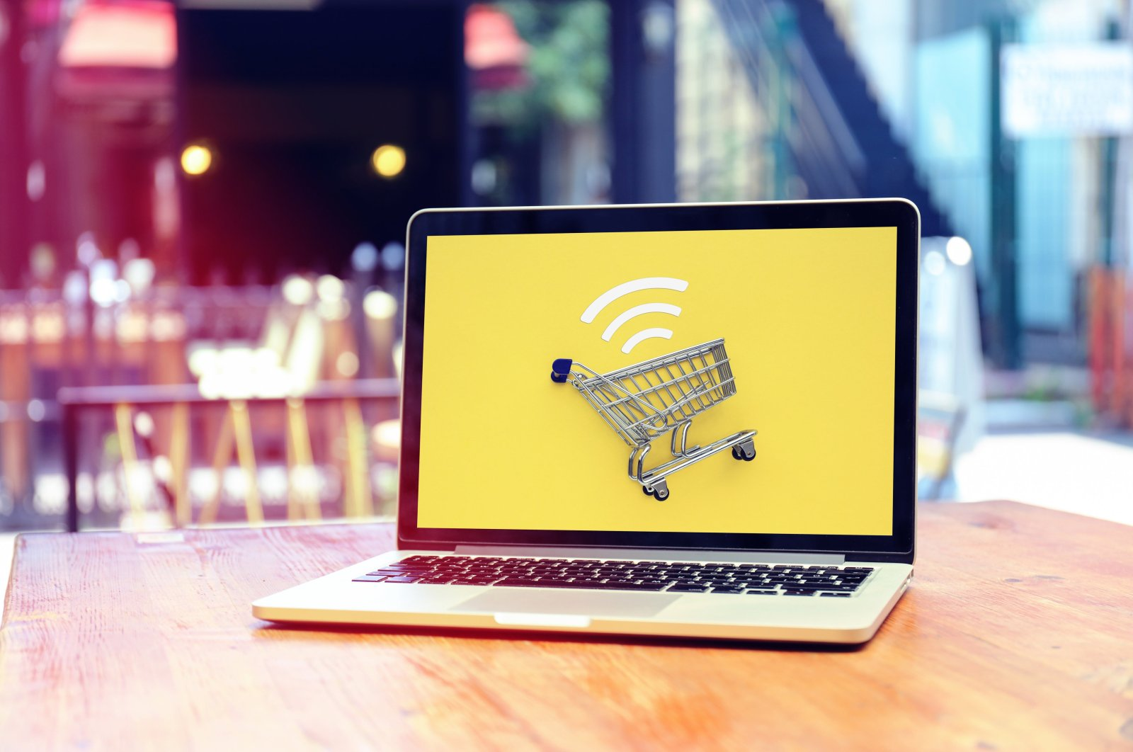 Internet shopping with laptop. (iStock Photo)
