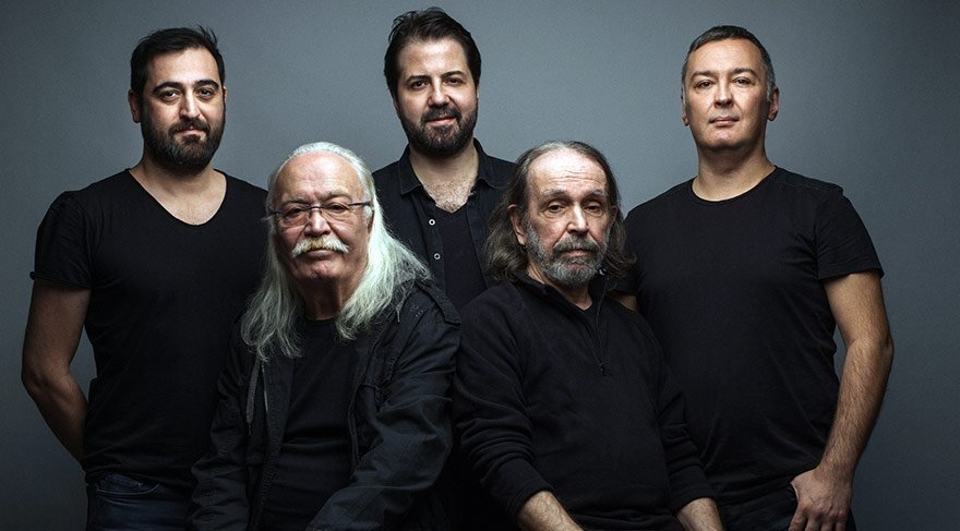 Moğollar introduced psychedelic music into the Turkish scene.(Sabah File Photo)