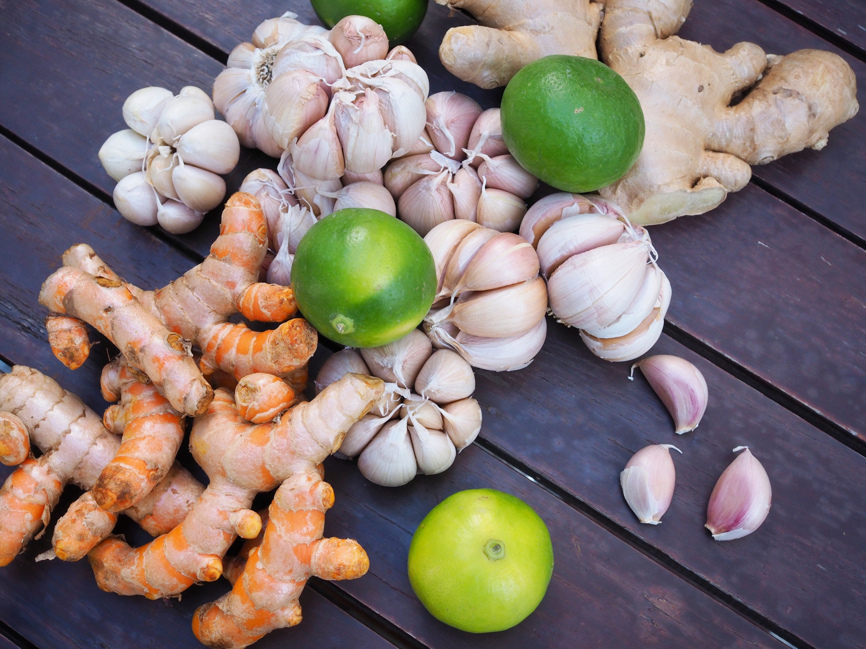 Ginger, garlic and turmeric are great immune-boosting spices to add to your meals. (Shutterstock Photo)