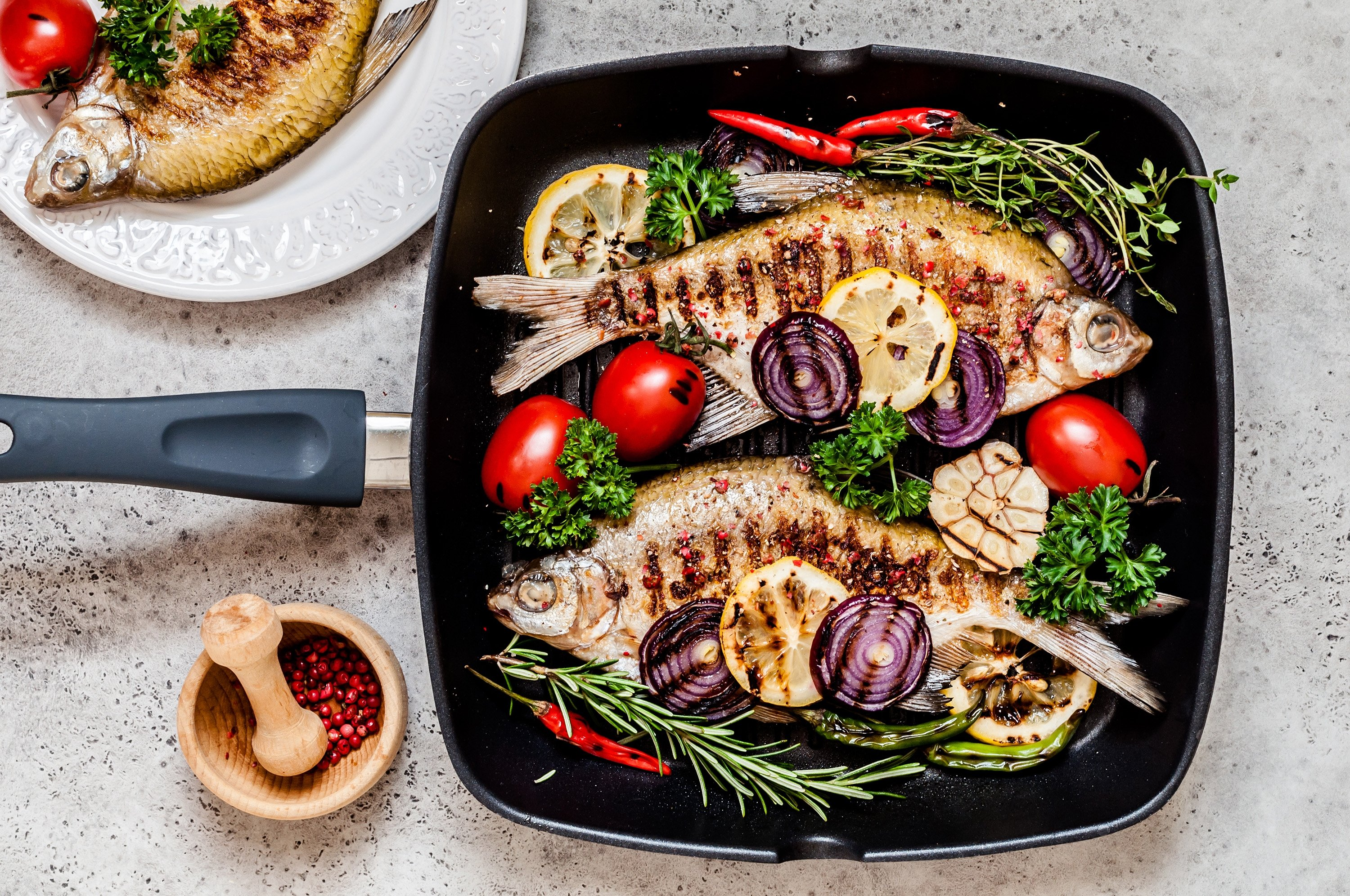 Try eating fish at least once or twice a week to get omega 3s and zinc. (Shutterstock Photo)