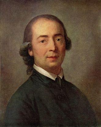 A portrait of Johann Gottfried Herder by Swiss artist Anton Graff.
