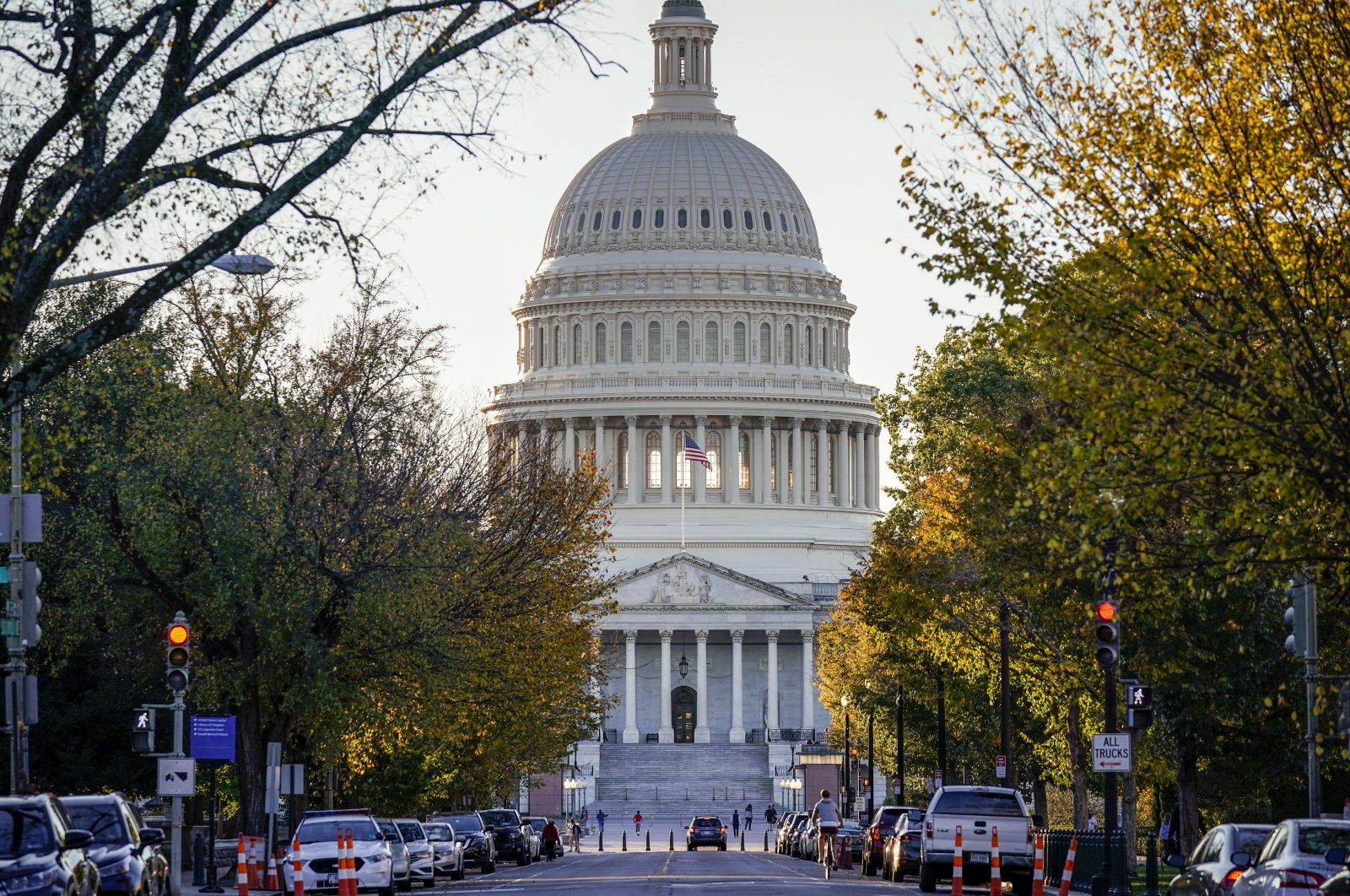 The East Front of the Capitol is seen in Washington, Wednesday, Nov. 4, 2020. (AP Photo)