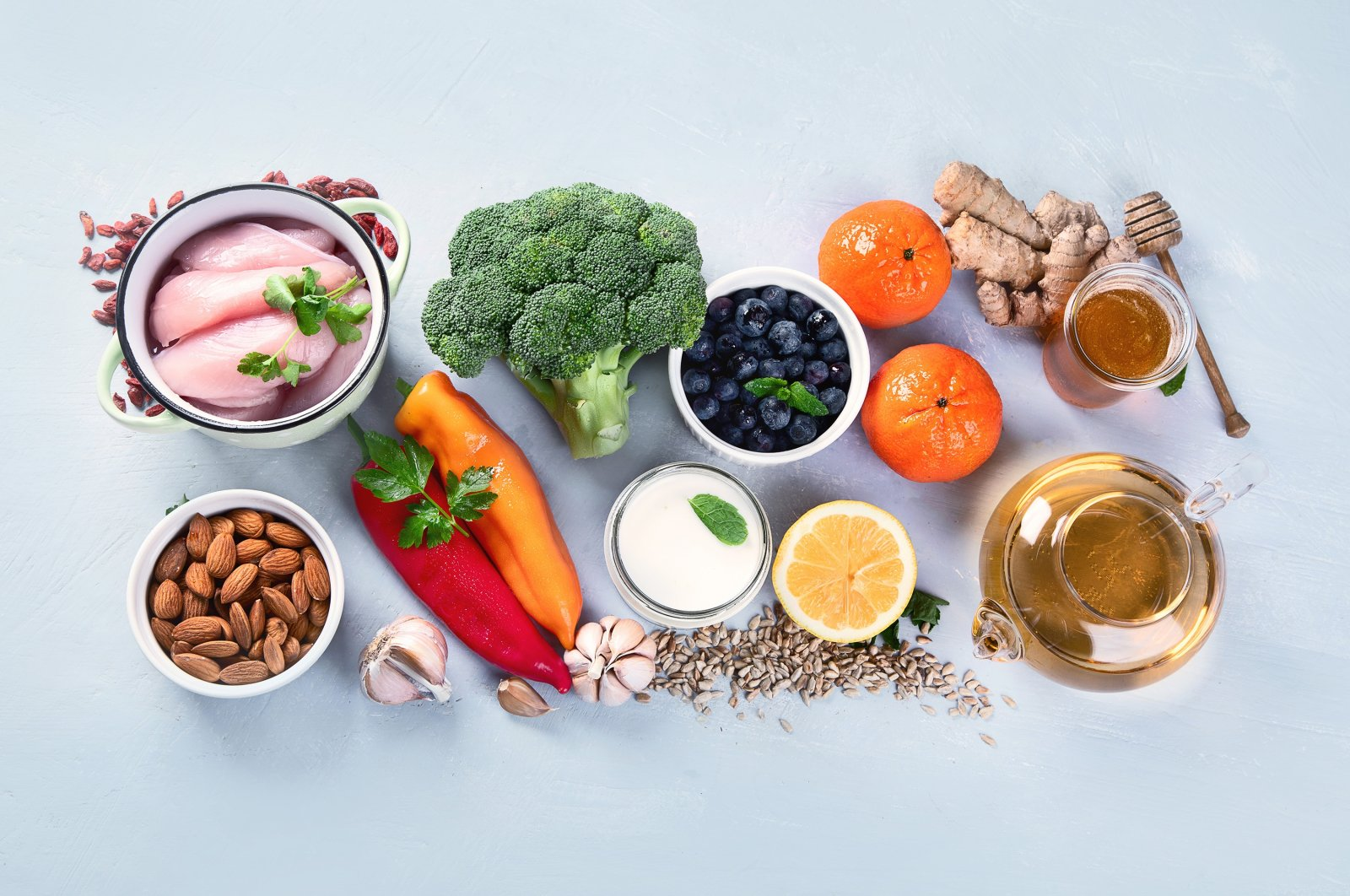 Eating certain foods could help keep your immune system strong this flu season. (Shutterstock Photo)