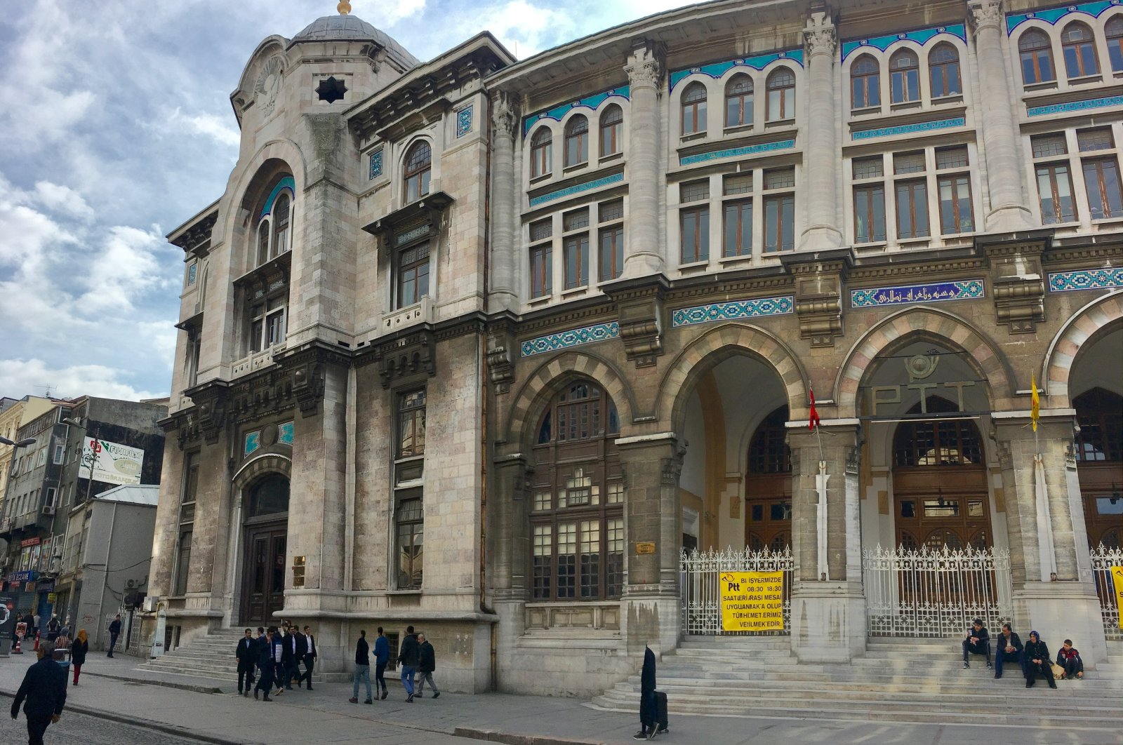 The Grand Post Office is an office building for Turkish postal services located at the Sirkeci quarter of the Fatih district in Istanbul, Feb. 19, 2017. (Photo by Shutterstock)