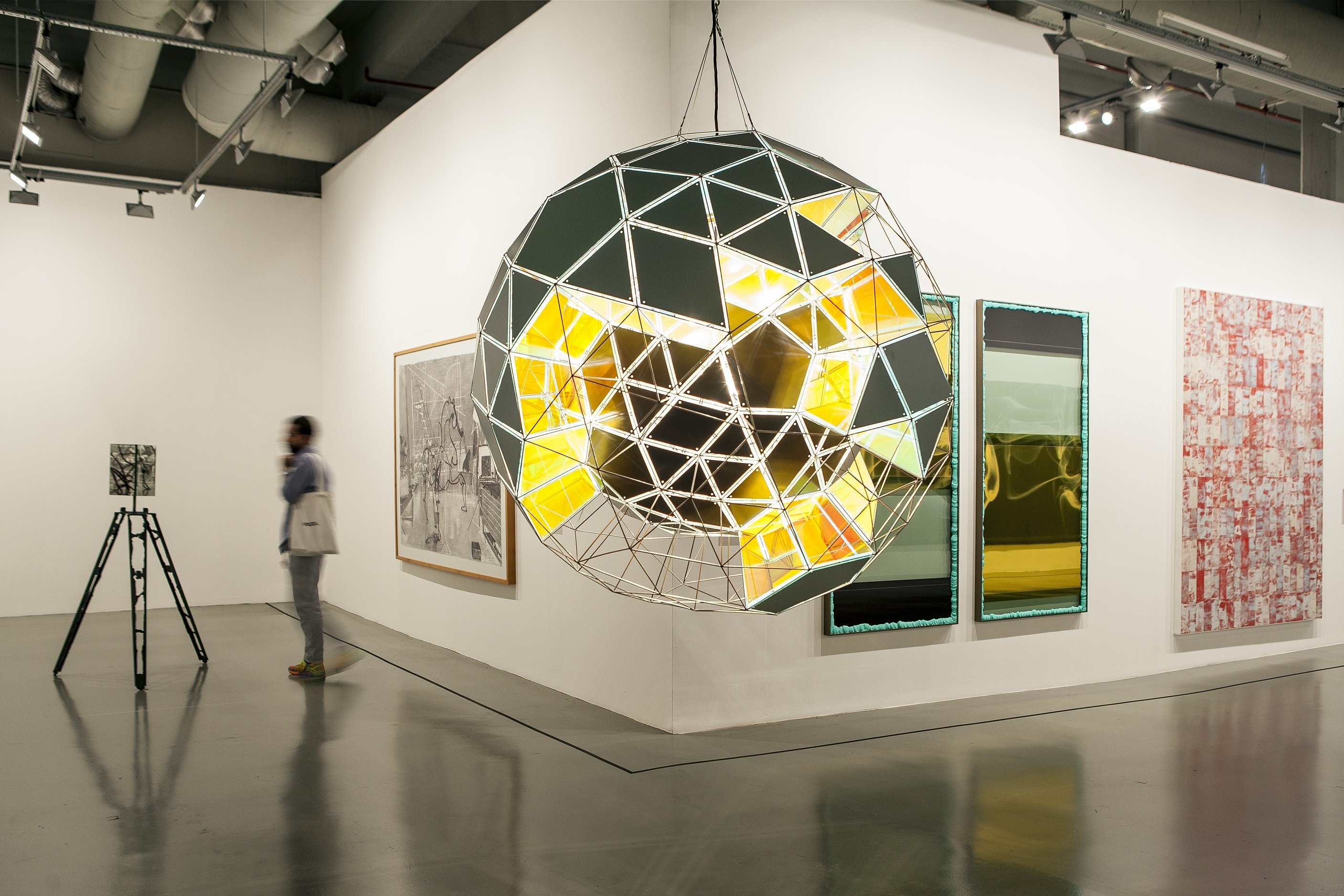 """Children will visit """"Artists in Their Time"""" and Istanbul Modern's renewed collection exhibition through virtual tours or live broadcasts during the workshops."""