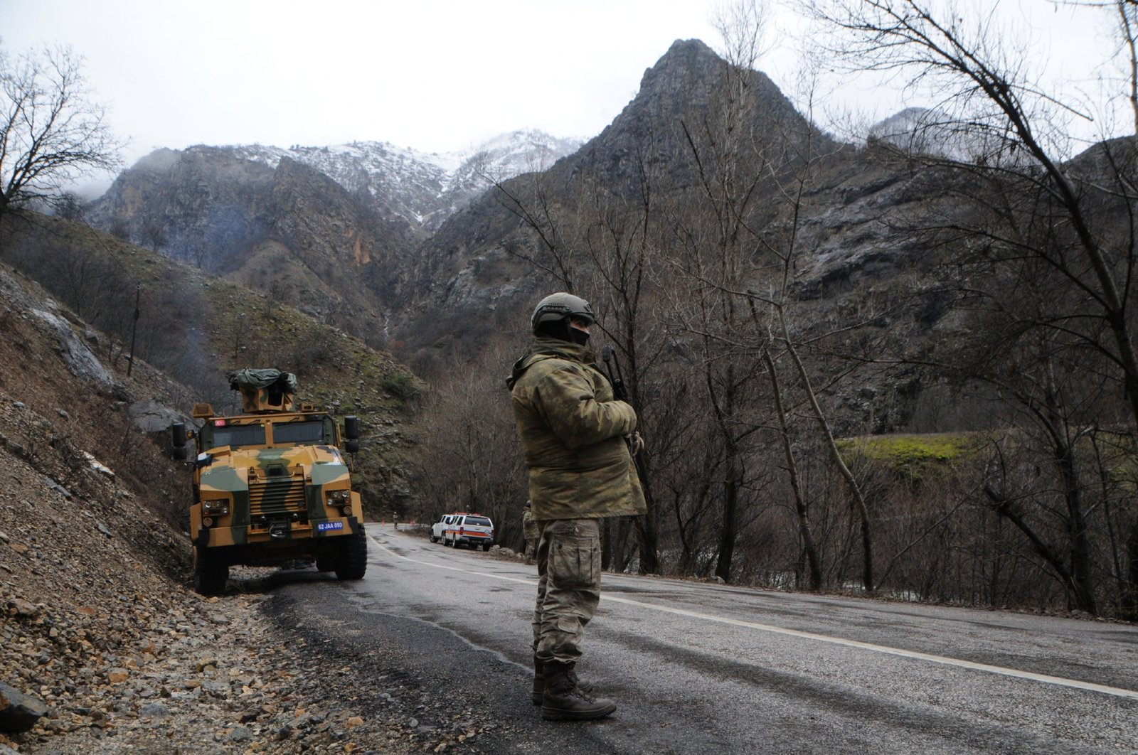 Turkish security forces take part in an anti-terror operation in Turkey's Tunceli province on Dec. 24, 2018 (DHA File Photo)