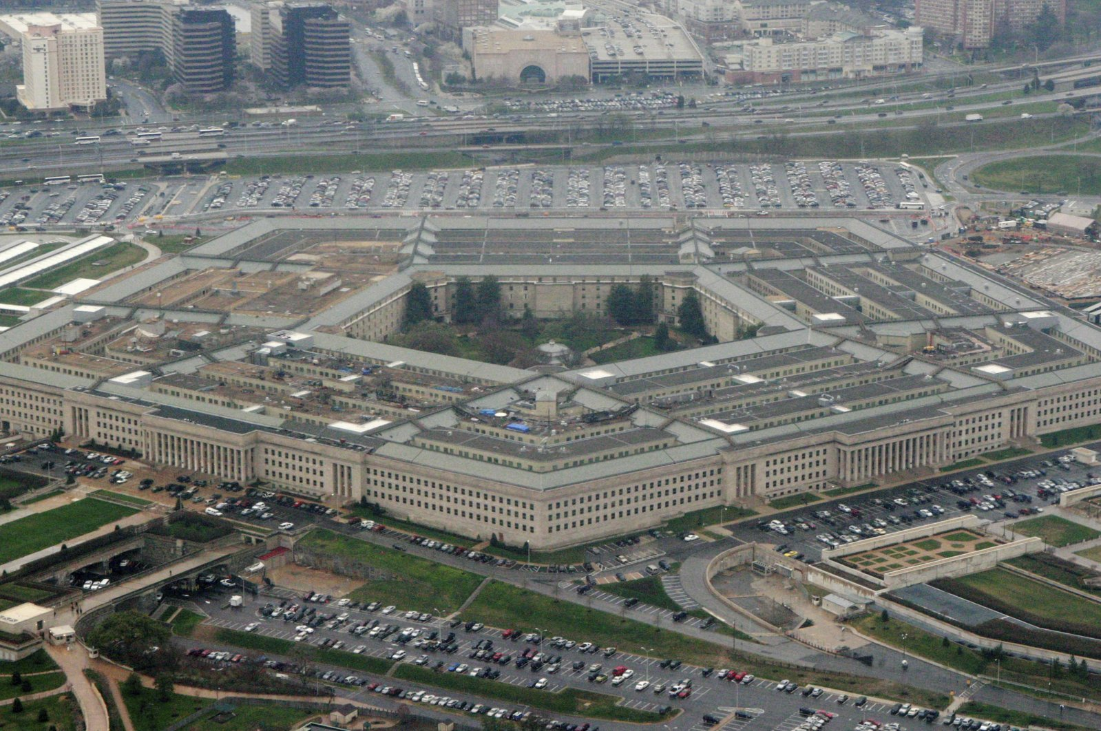 The Pentagon in Washington is seen in the photograph, March 27, 2008. (AP Photo)