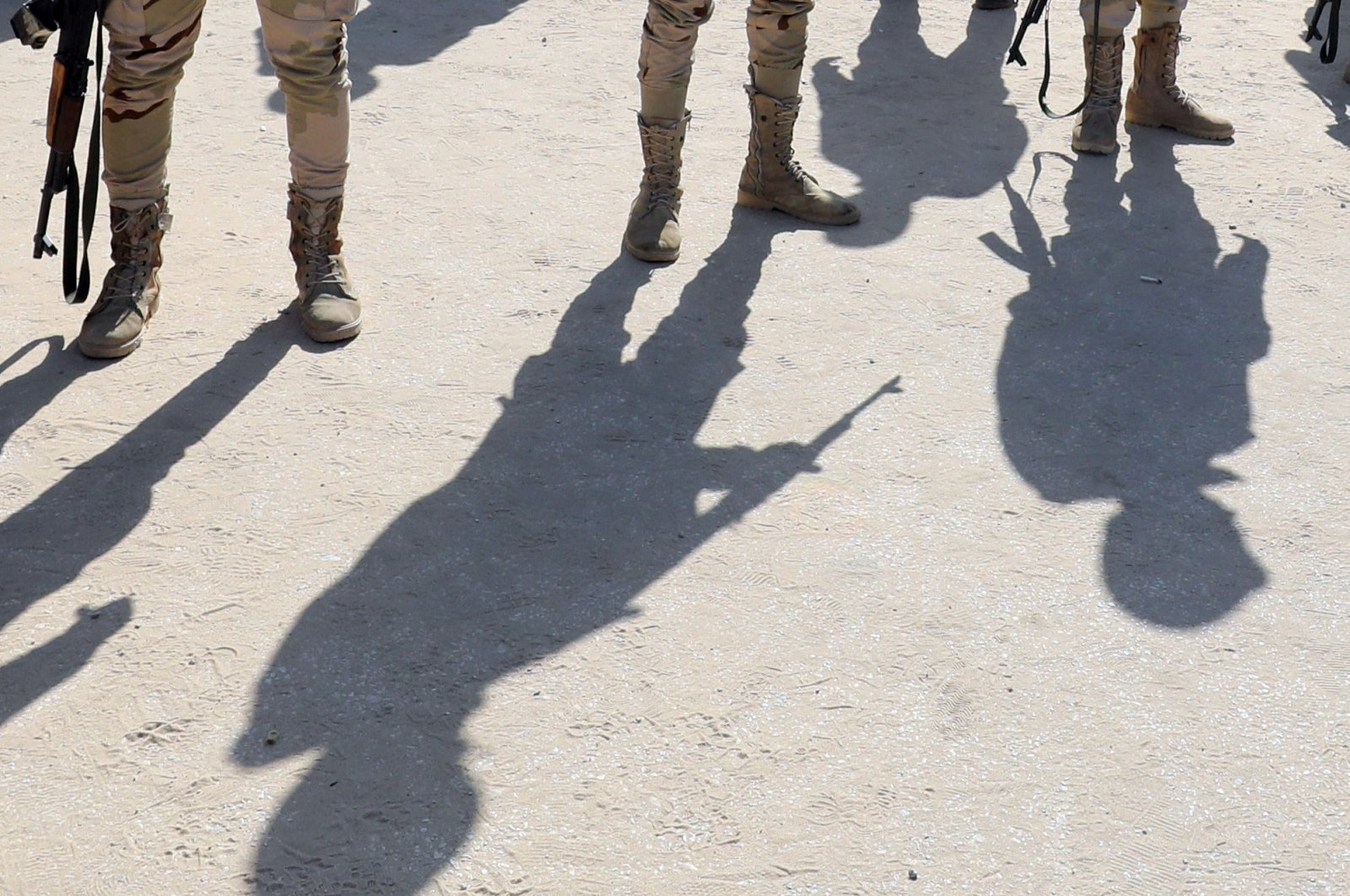Military forces are seen in North Sinai, Egypt, Dec. 1, 2017. (Reuters File Photo)