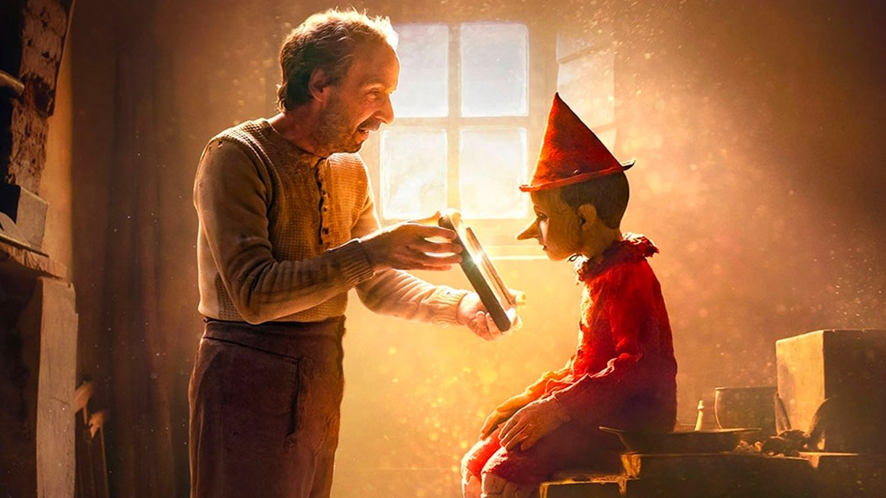 """A still shot from """"Pinocchio."""""""
