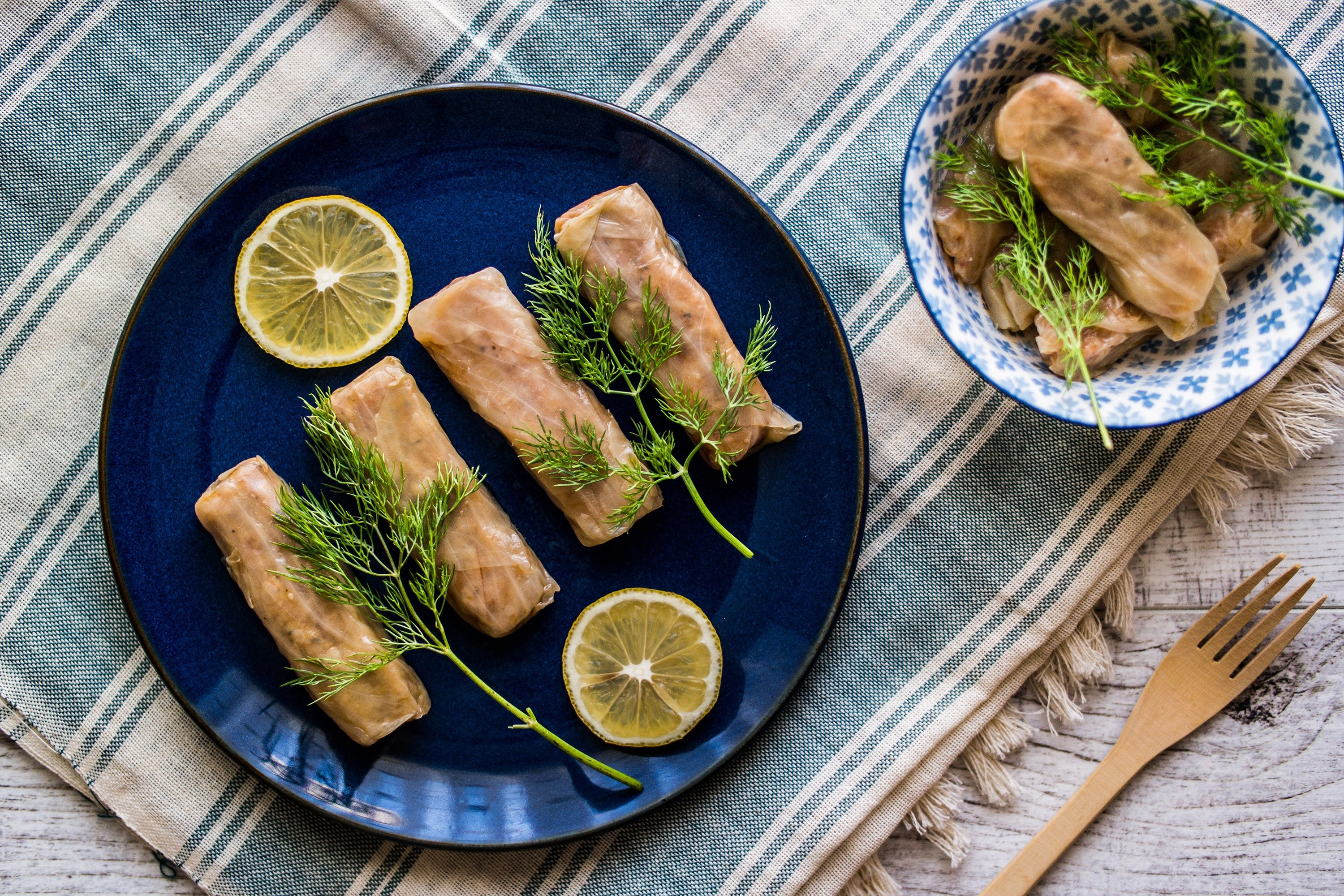 Try turning your cabbage leaves into stuffed rolls, a la Turk, for a change. (Shutterstock Photo)