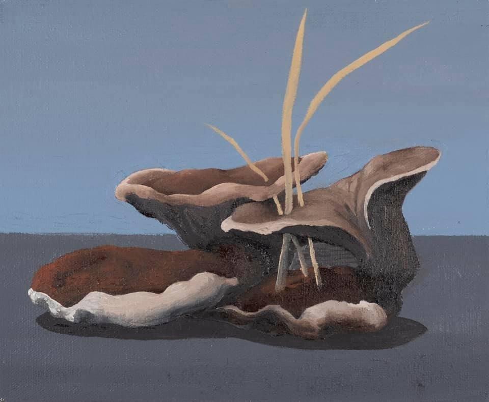Ekin Kano, 'Home III,' 2020, oil on canvas, 22 by 27 centimeters. (Courtesy of Öktem Aykut)