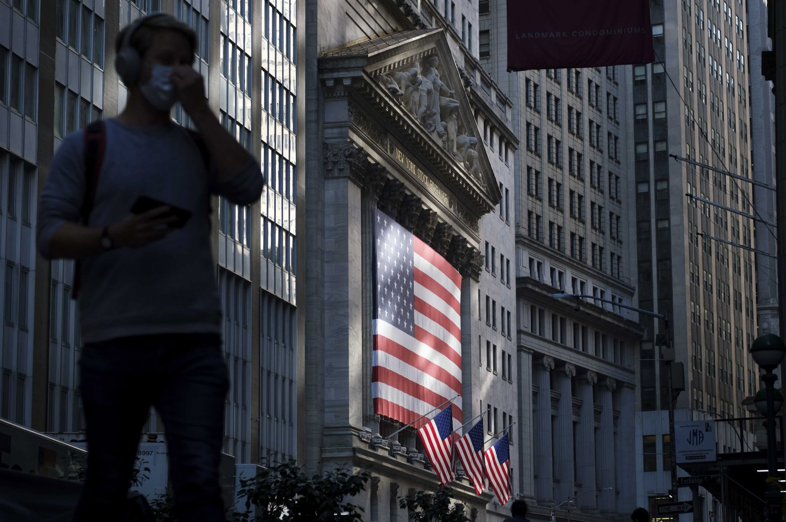A view of the New York Stock Exchange in New York, New York, USA, 09 November 2020. (EPA Photo)