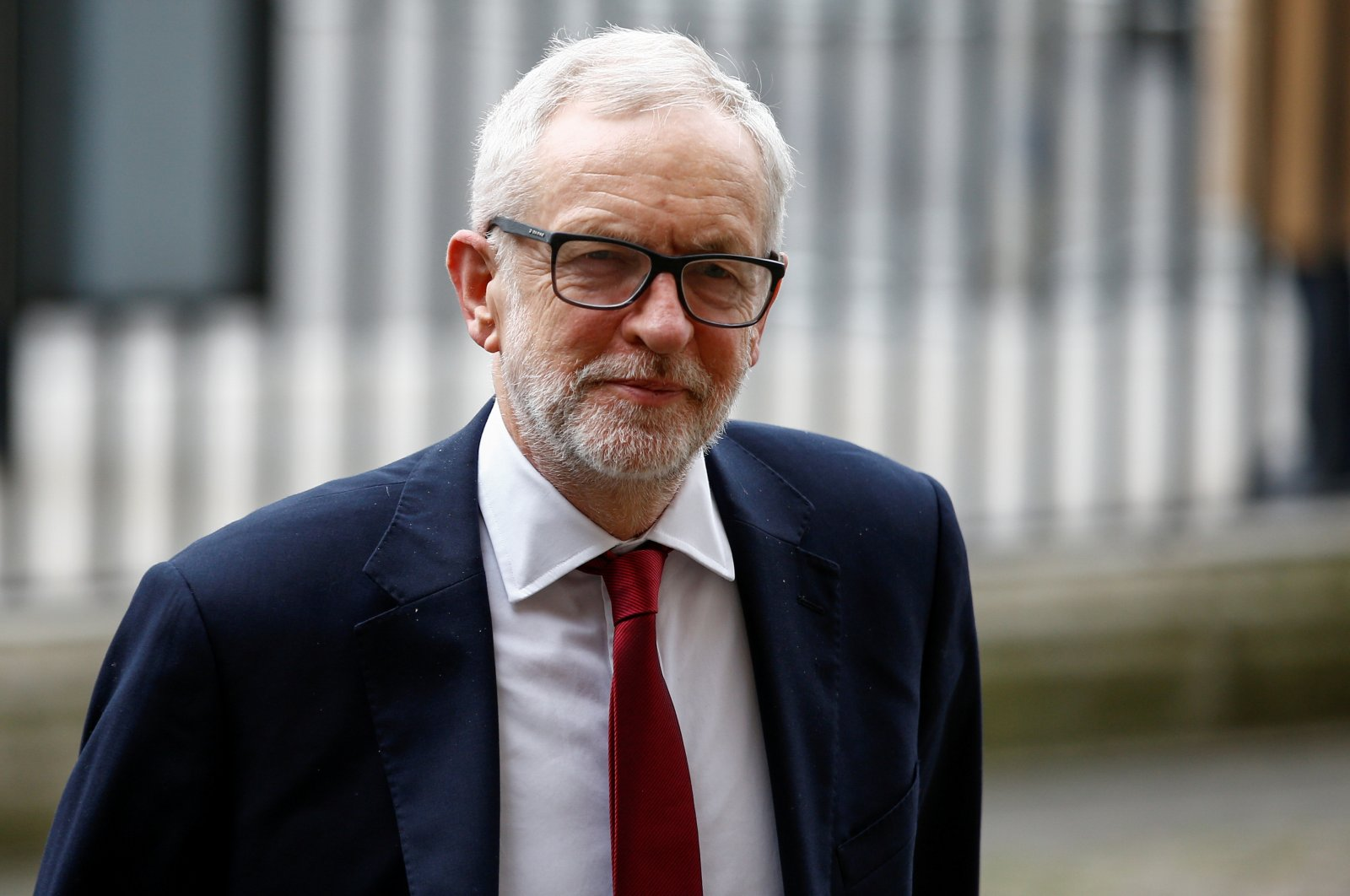 The former leader of Britain's Labour Party Jeremy Corbyn arrives for the annual Commonwealth Service at Westminster Abbey in London, Britain, March 9, 2020. (REUTERS Photo)