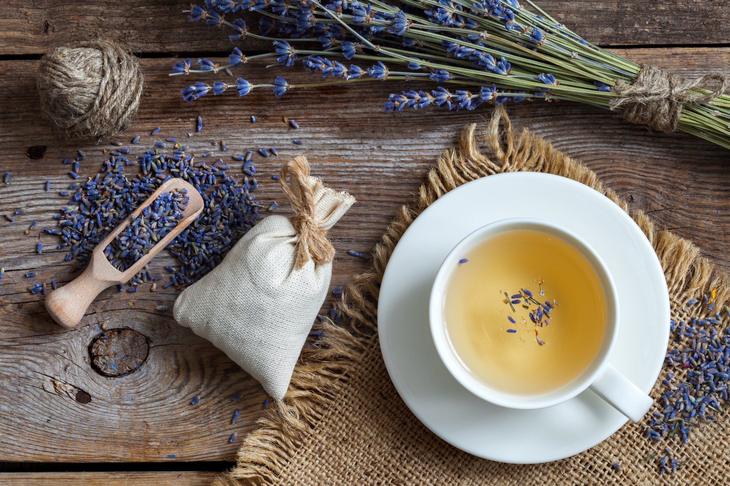 Karabaş, or French lavender, tea is great to soothe an upset stomach. (Shutterstock Photo)