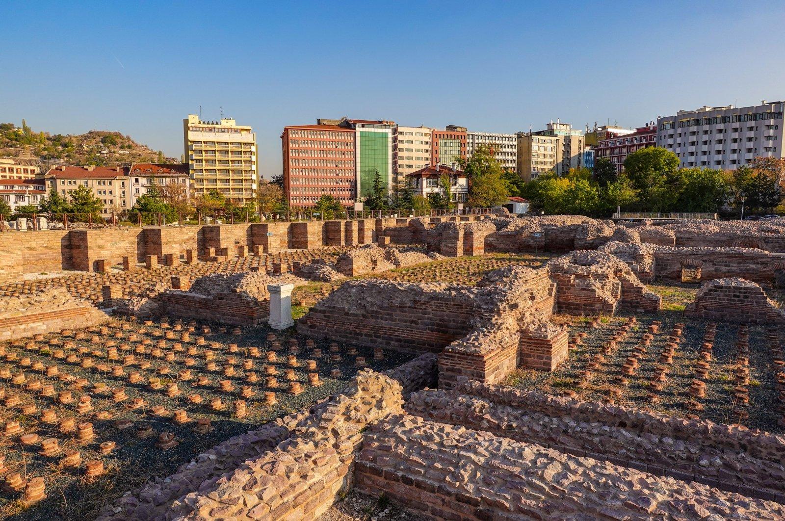 The Roman Bath. (Photo by Argun Konuk)
