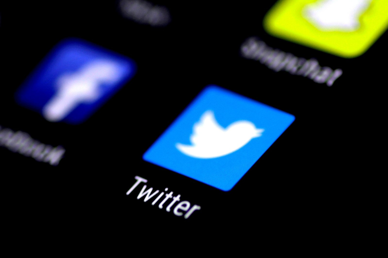 The Twitter application is seen on a phone screen Aug. 3, 2017. (Reuters Photo)