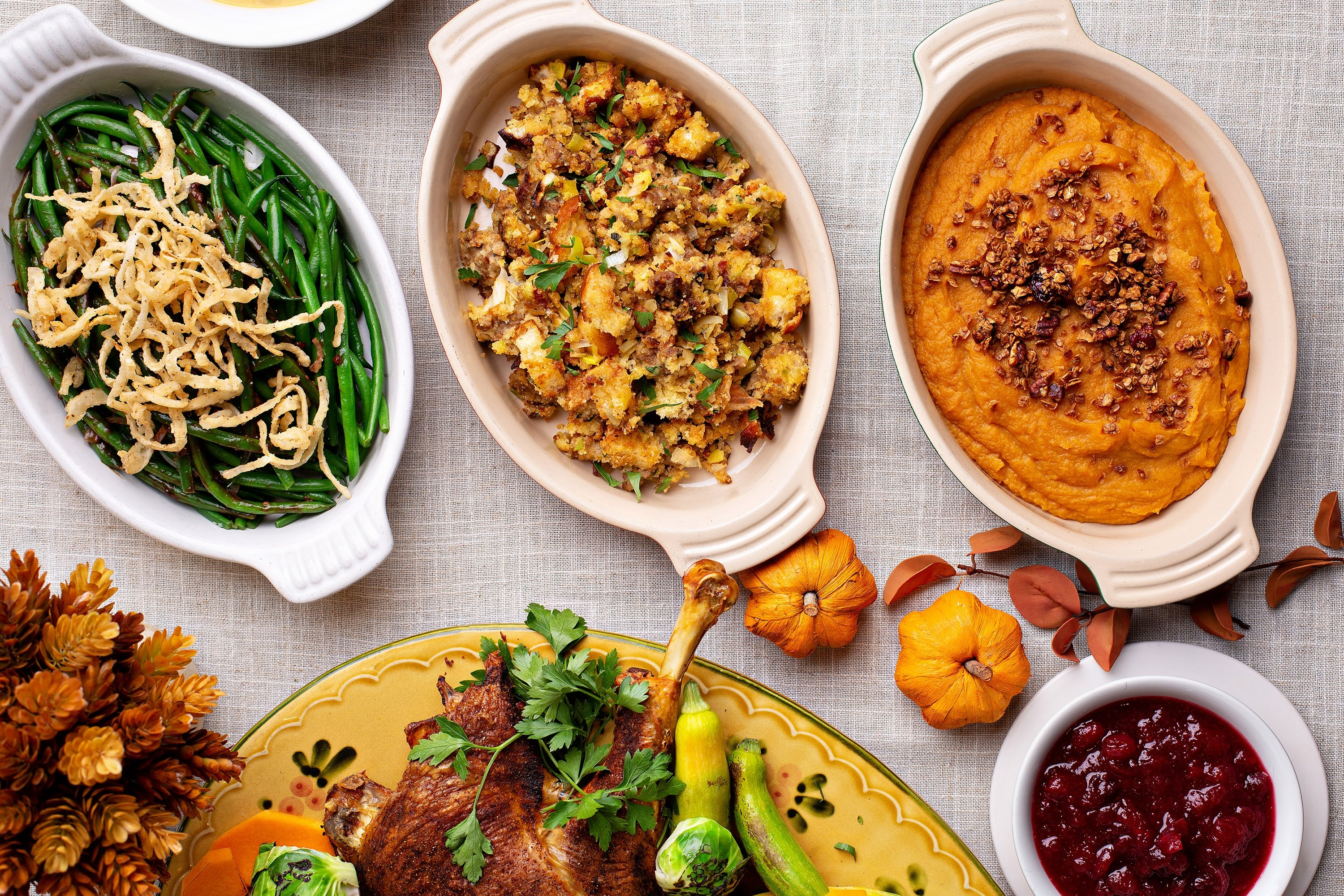 If you want to go fancier with your Thanksgiving sides, try swapping mashed potatoes for sweet potatoes. (Shutterstock Photo)