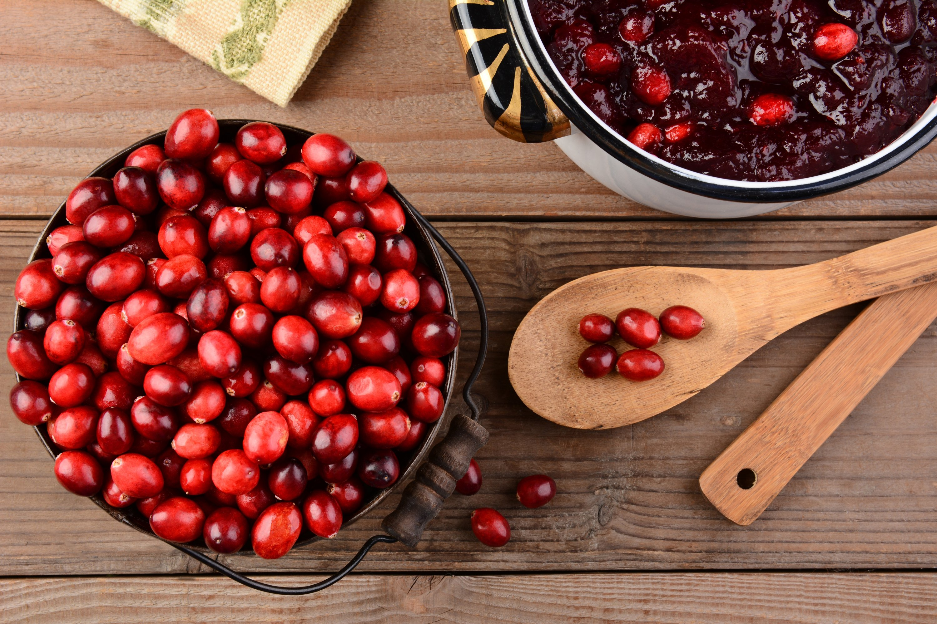Cranberries are quite hard to come by in Turkey. (Shutterstock Photo)