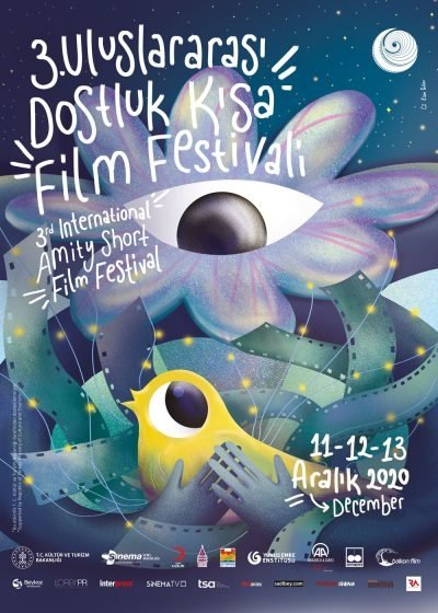 A poster of the third International Amity Short Film Festival.
