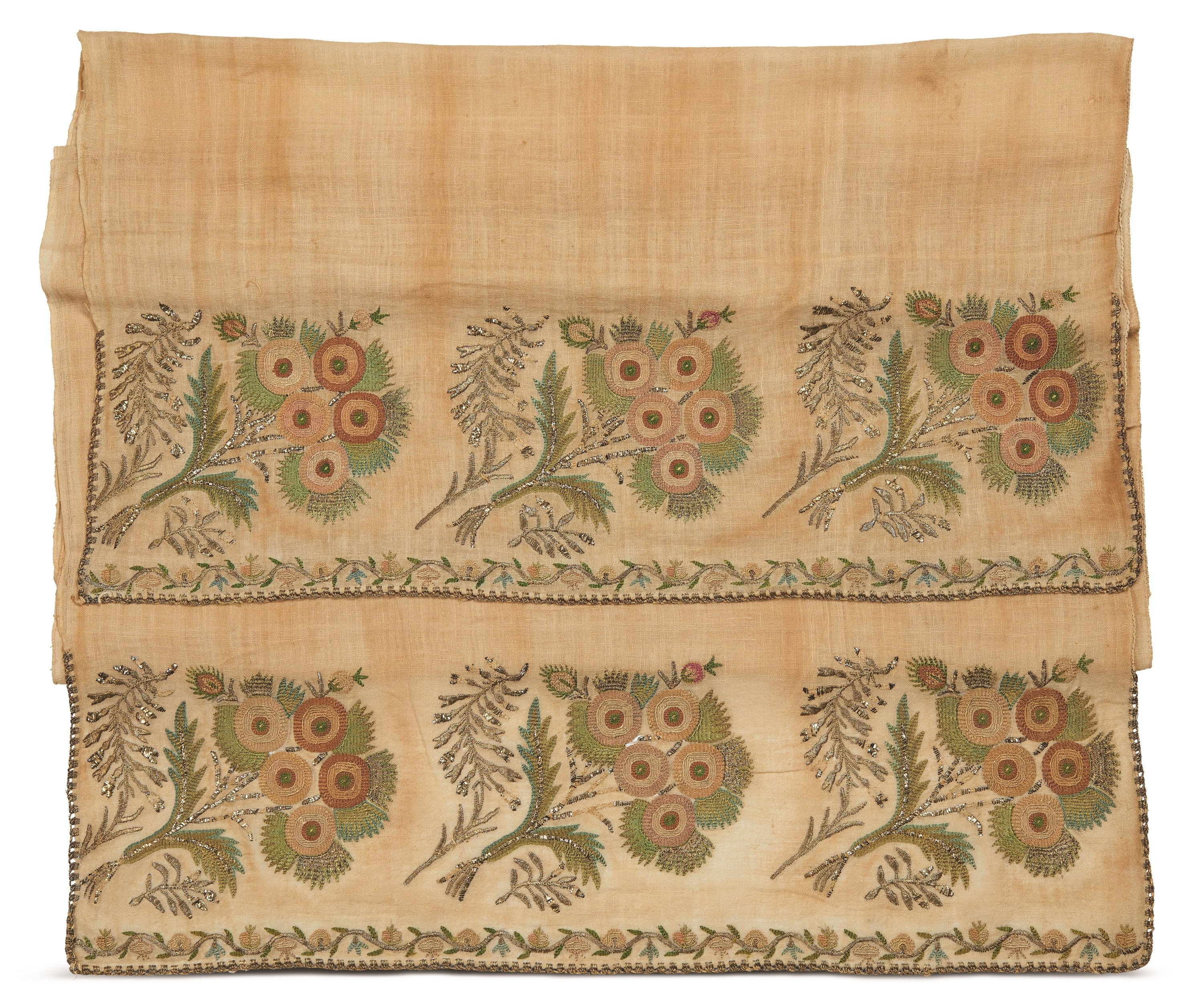 A napkin from the 19th-century Ottoman period.