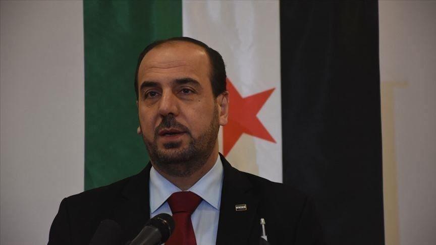 Nasr al-Hariri, head of the Syrian Opposition Coalition (SOC). (AA Photo)