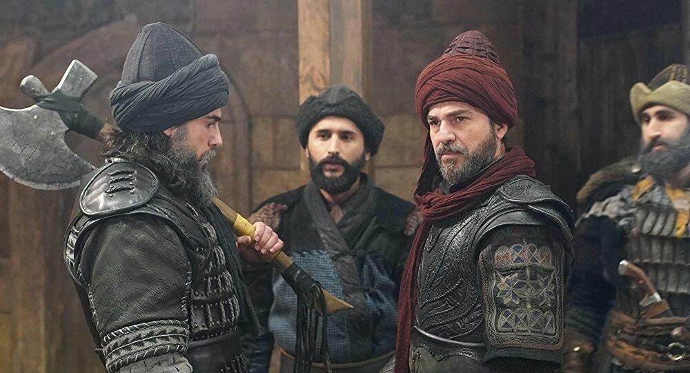 """Still shot from """"Diriliş: Ertuğrul"""" (""""Resurrection: Ertuğrul"""")"""