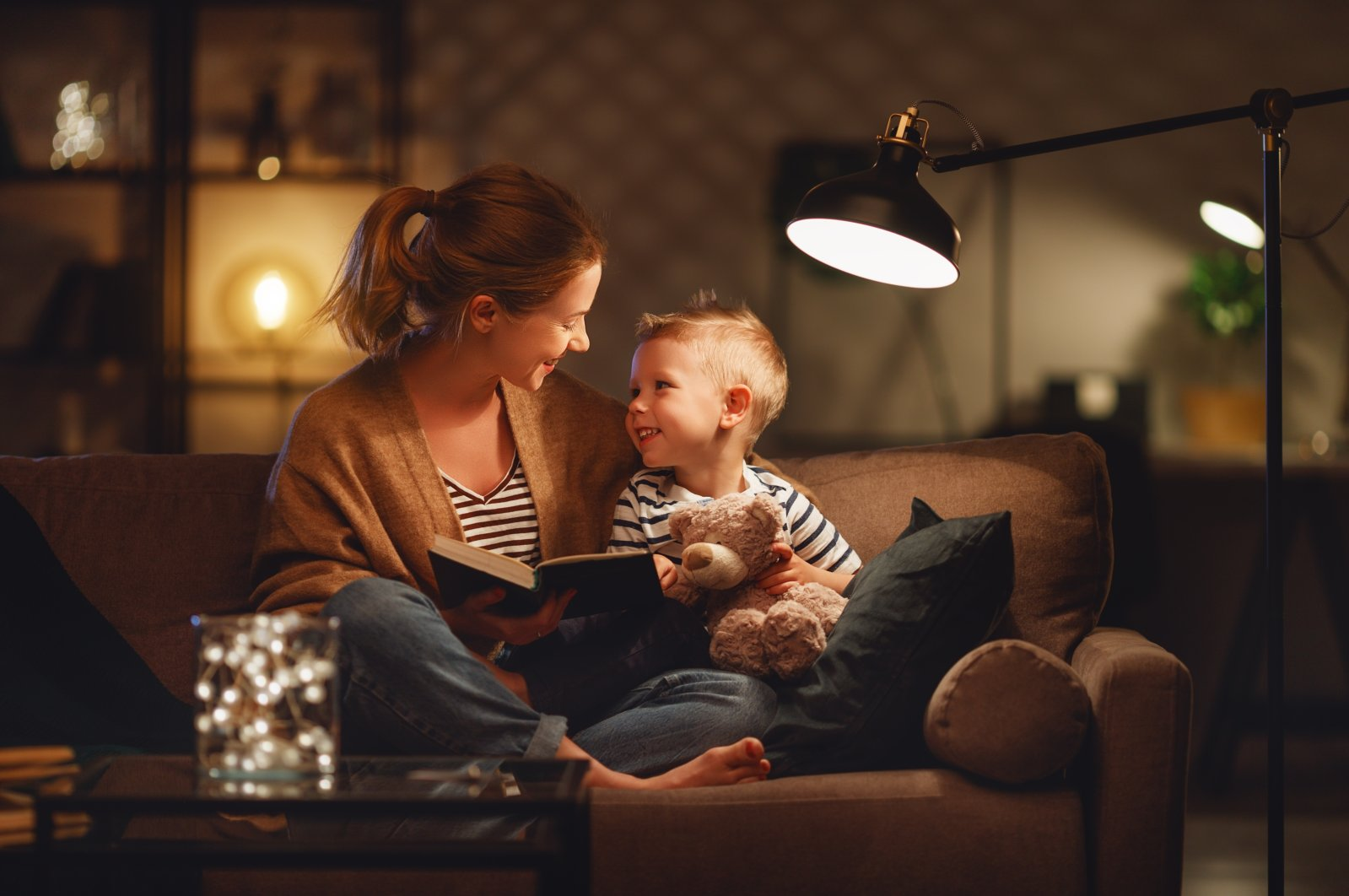 If you suspect your child has a speech delay, try looking at picture books together to encourage them to use their words. (Shutterstock Photo)