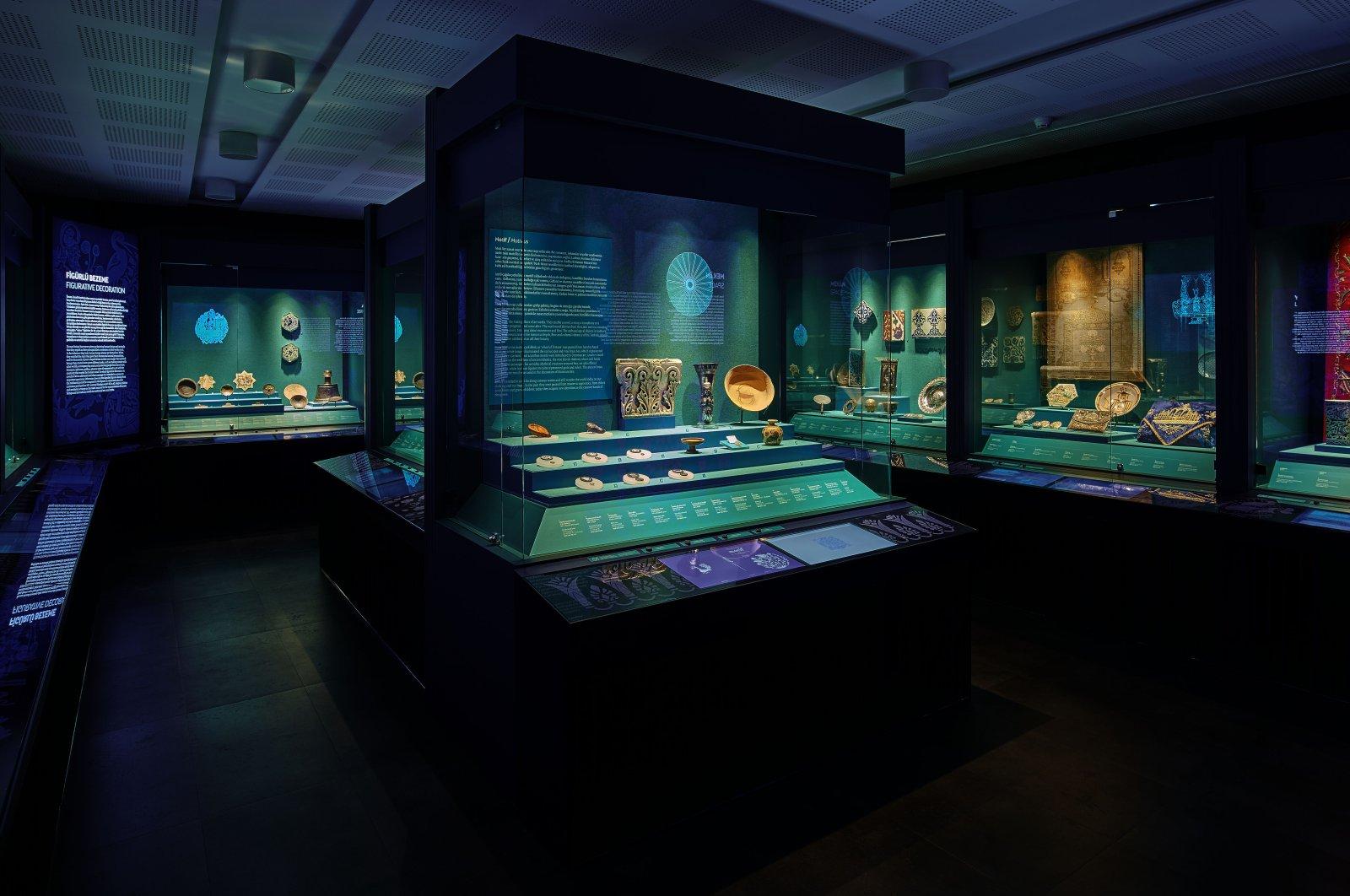 """A general view from """"Motif"""" at Sadberk Hanım Museum, Istanbul."""