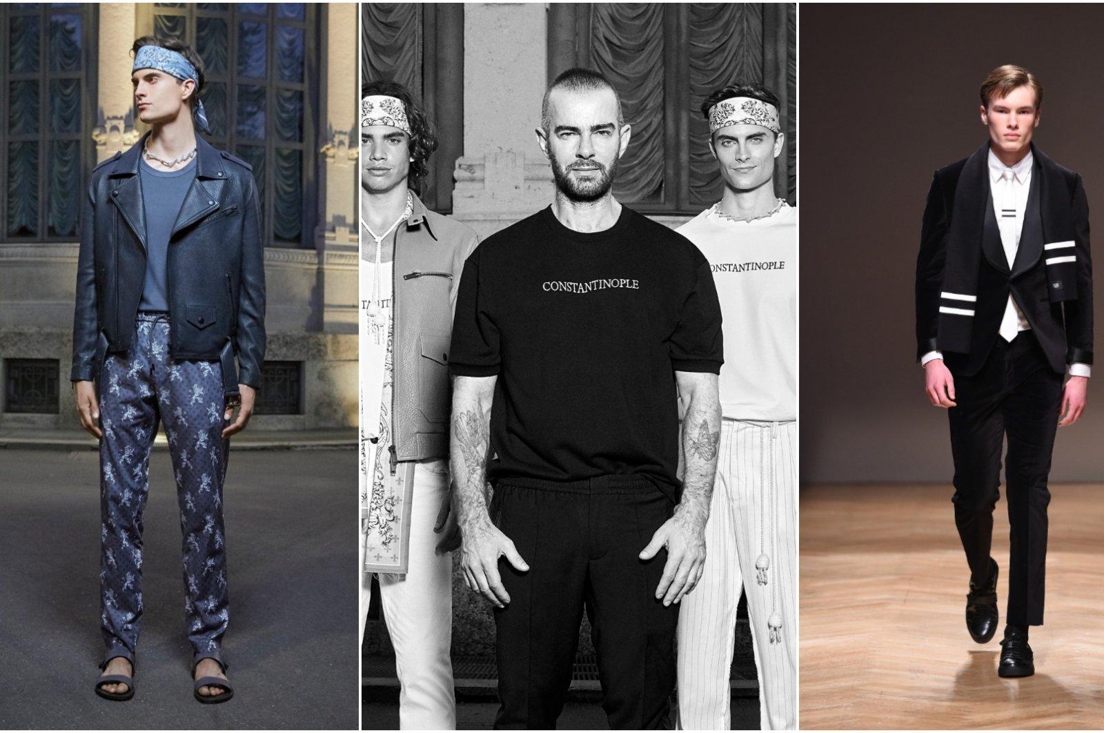 Turkish designer Serdar Uzuntaş made his debut in Milan in January 2020. (Photos courtesy of Serdar Uzuntaş)