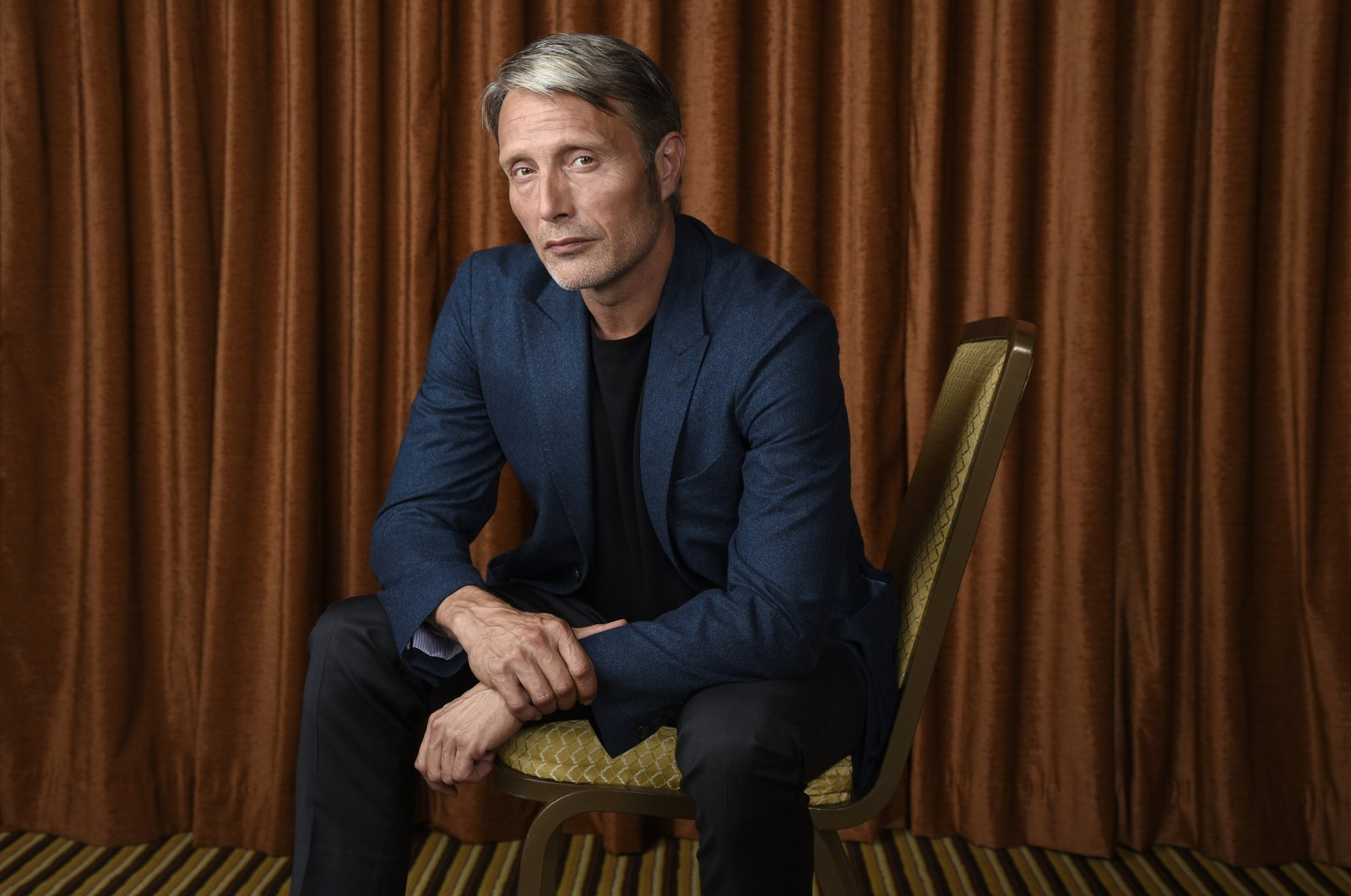 "Mads Mikkelsen poses at The Montage Hotel in Beverly Hills, California, U.S., to promote his film ""Doctor Strange,"" in this undated photo. (AP Photo)"