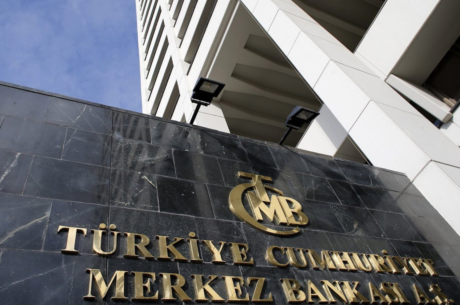 The Central Bank of the Republic of Turkey (CBRT) headquarters in the capital Ankara, Turkey, Jan. 24, 2014. (Reuters Photo)
