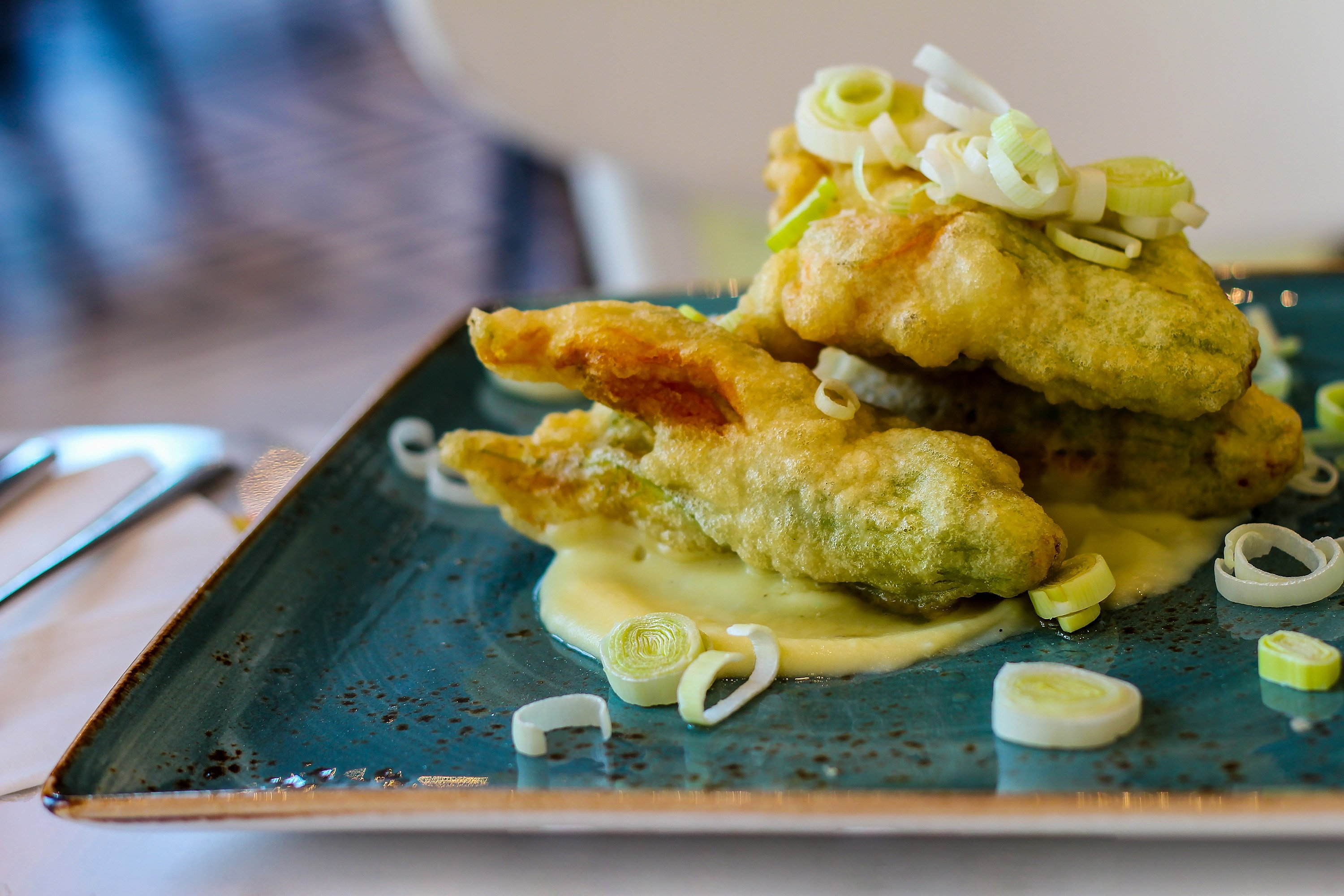 Anchovy leek fritters are an easy way to incorporate more vegetables into your diet. (Shutterstock Photo)
