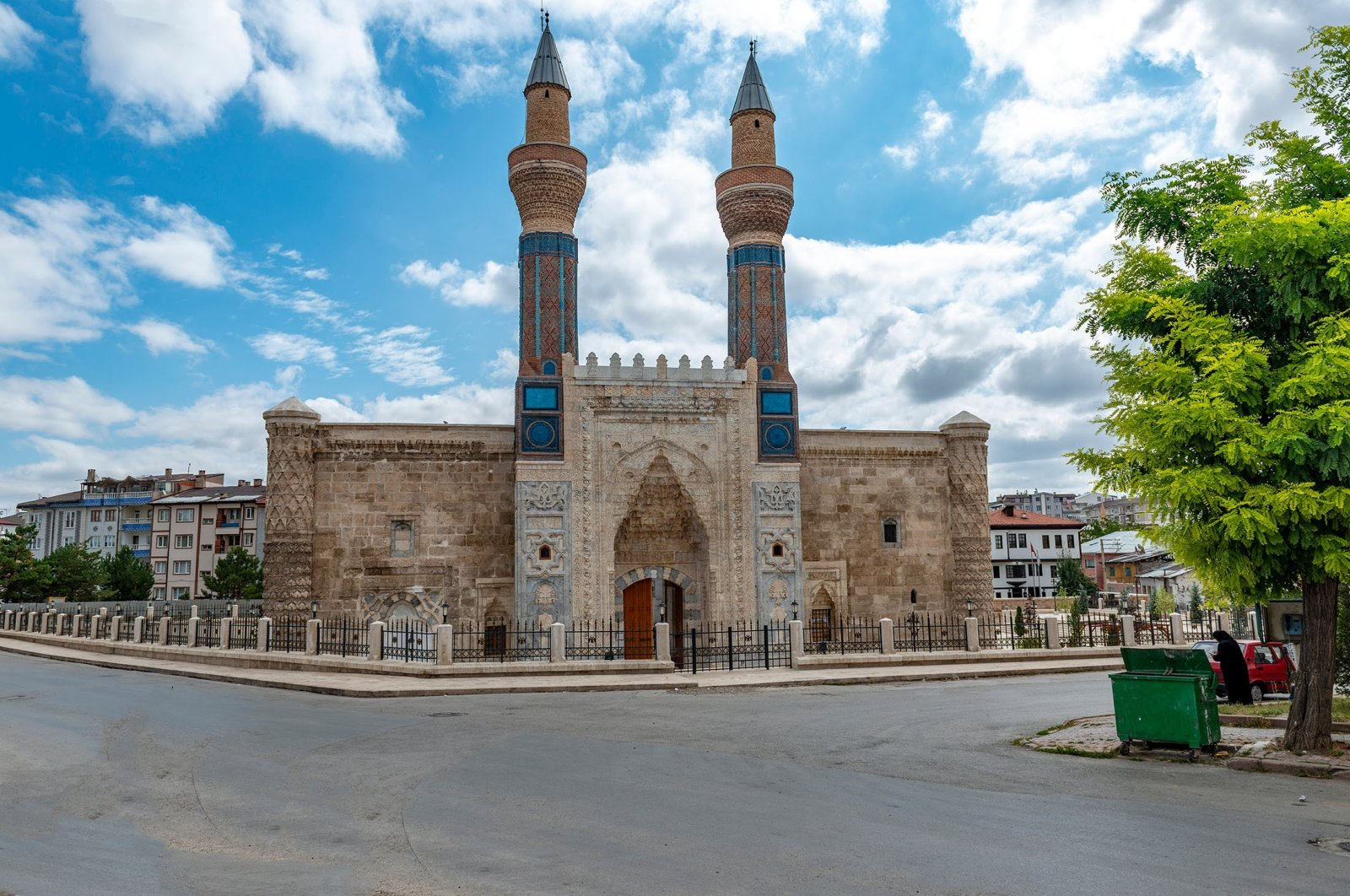 Gökmedrese in central Sivas province is one of the most prominent madrasas in Turkey. (Shutterstock Photo)