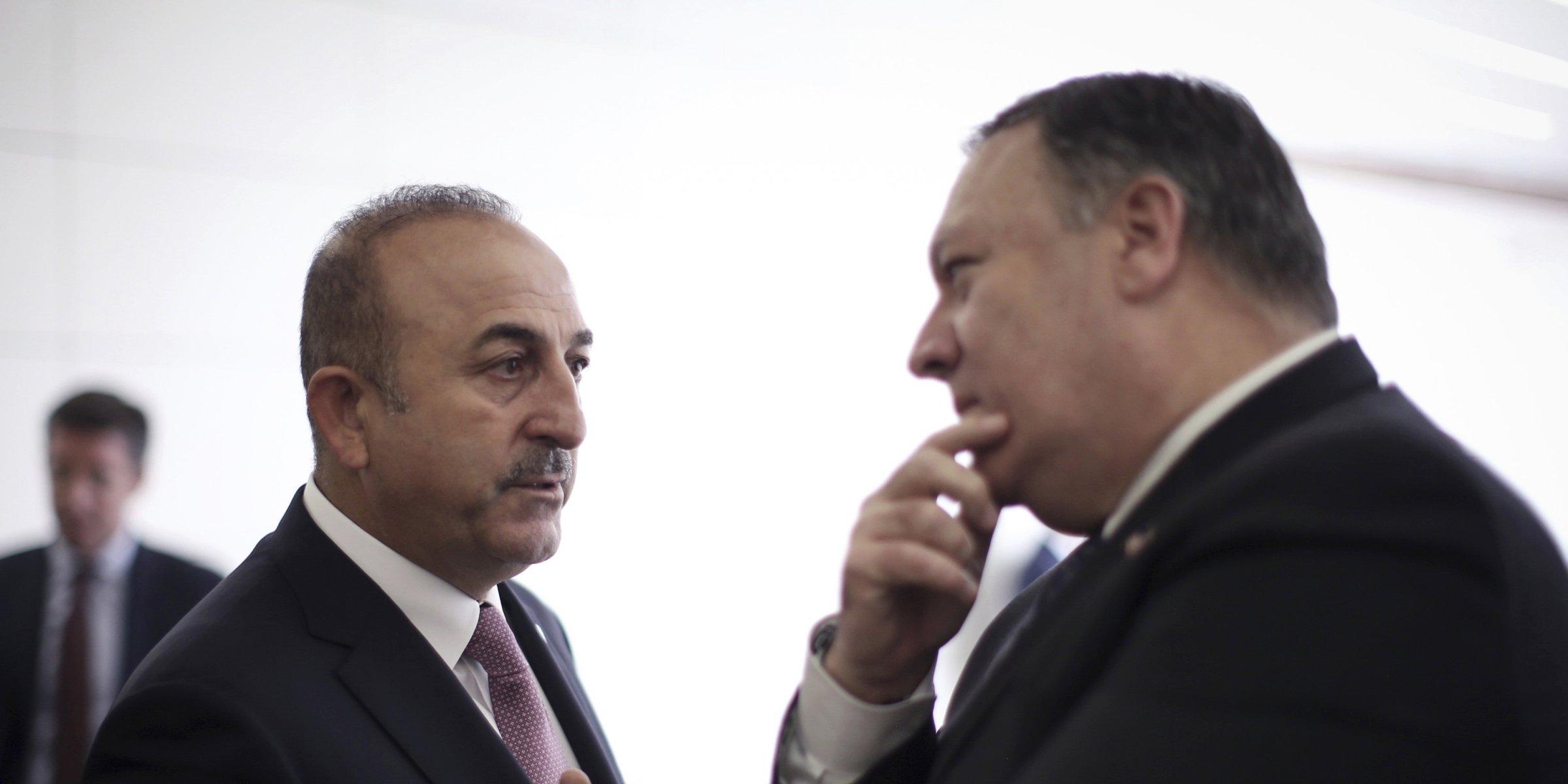 US supports terrorist groups in Syria, biased against Turkey, Çavuşoğlu tells Pompeo