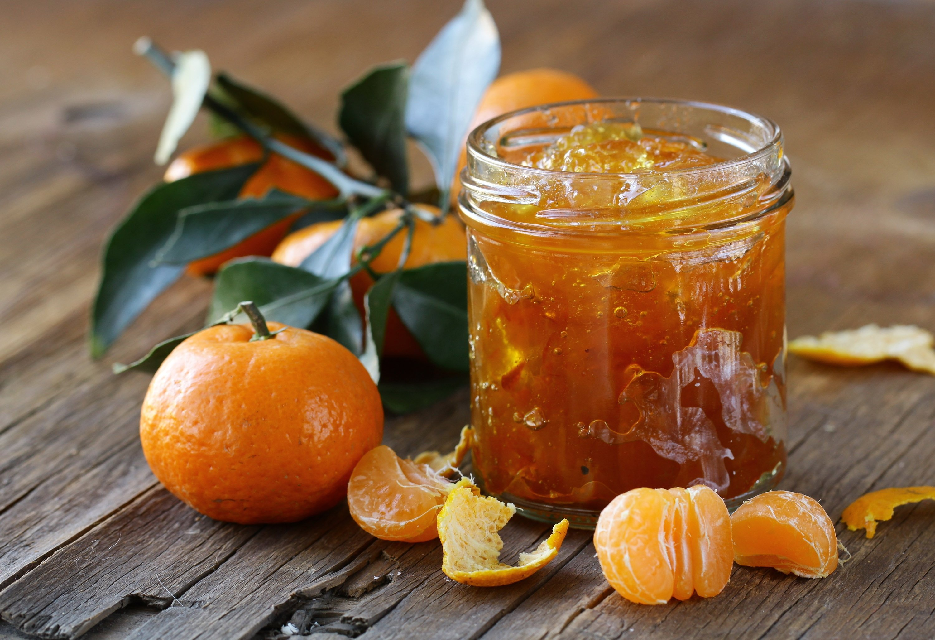 Mandarin jam is great on toast or used as filling between cake layers. (Shutterstock Photo)