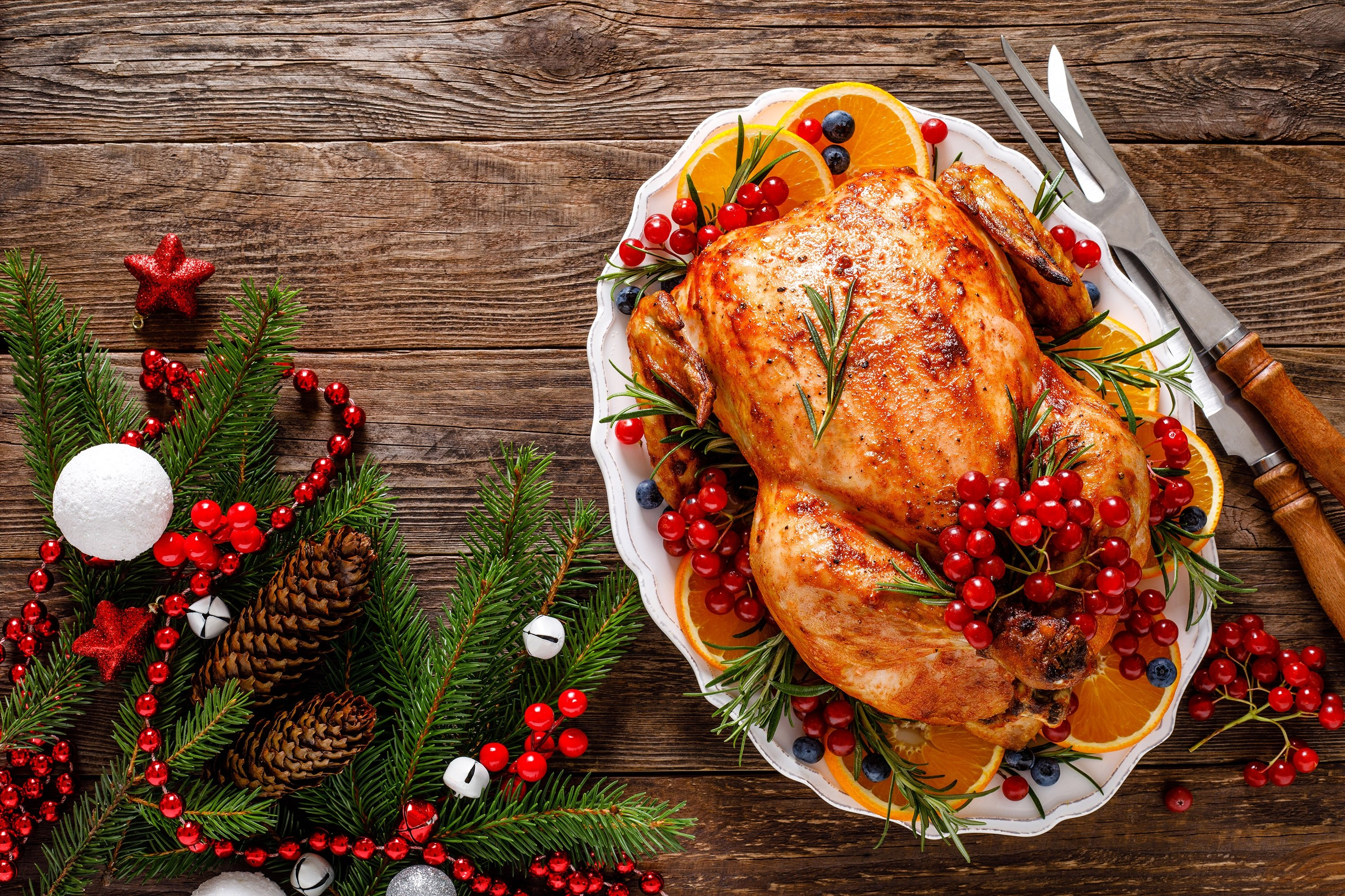 A traditional Christmas dinner calls for a whole Turkey. (Shutterstock Photo)