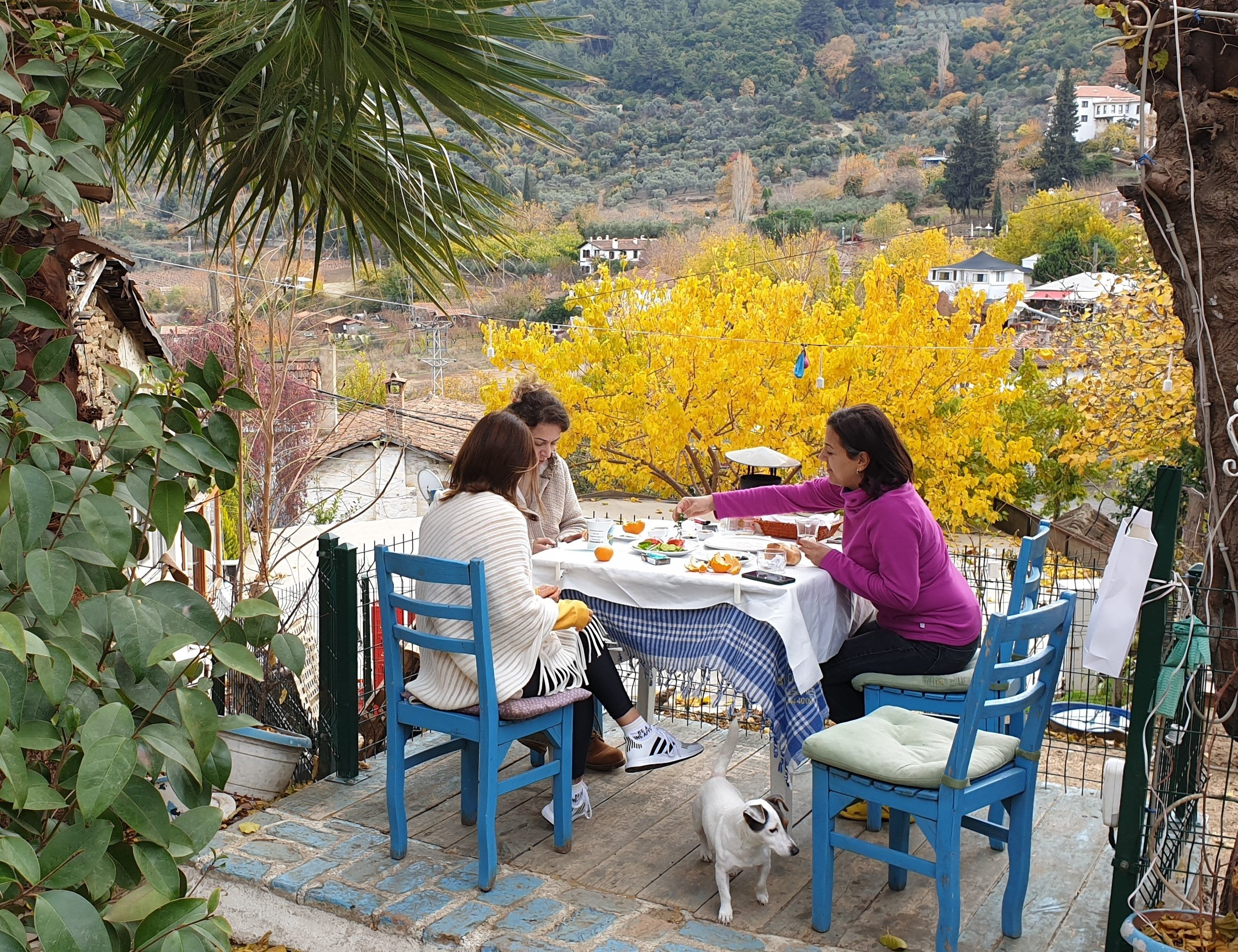 Once a 'doomsday' shelter, Şirince village in western Turkey now a pandemic getaway