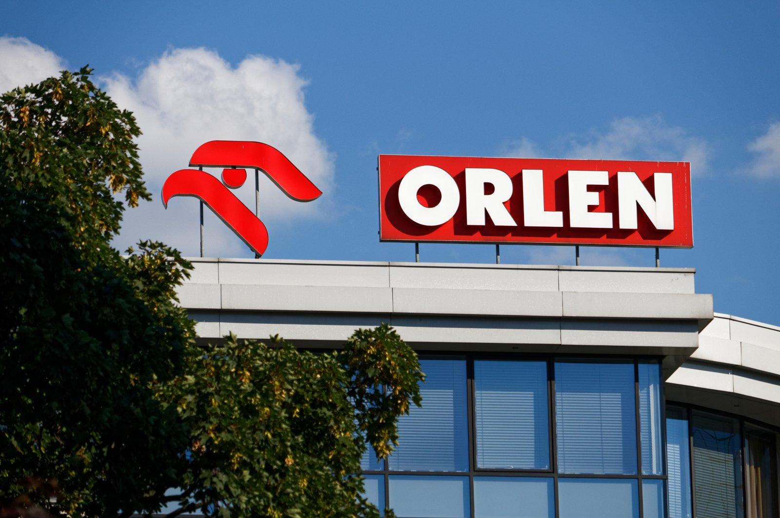 Logo of the PKN Orlen on the top of a building, Warsaw, Poland, July 4, 2018. (Shutterstock Photo by Mateusz Szymanski)