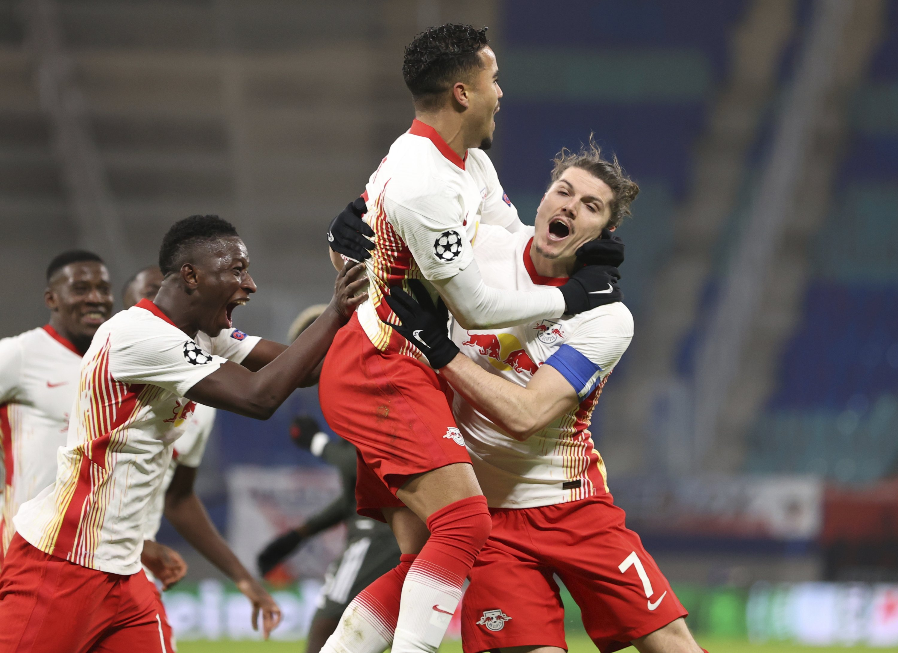 Leipzig knocks Manchester United out of Champions League with 3-2 win |  Daily Sabah