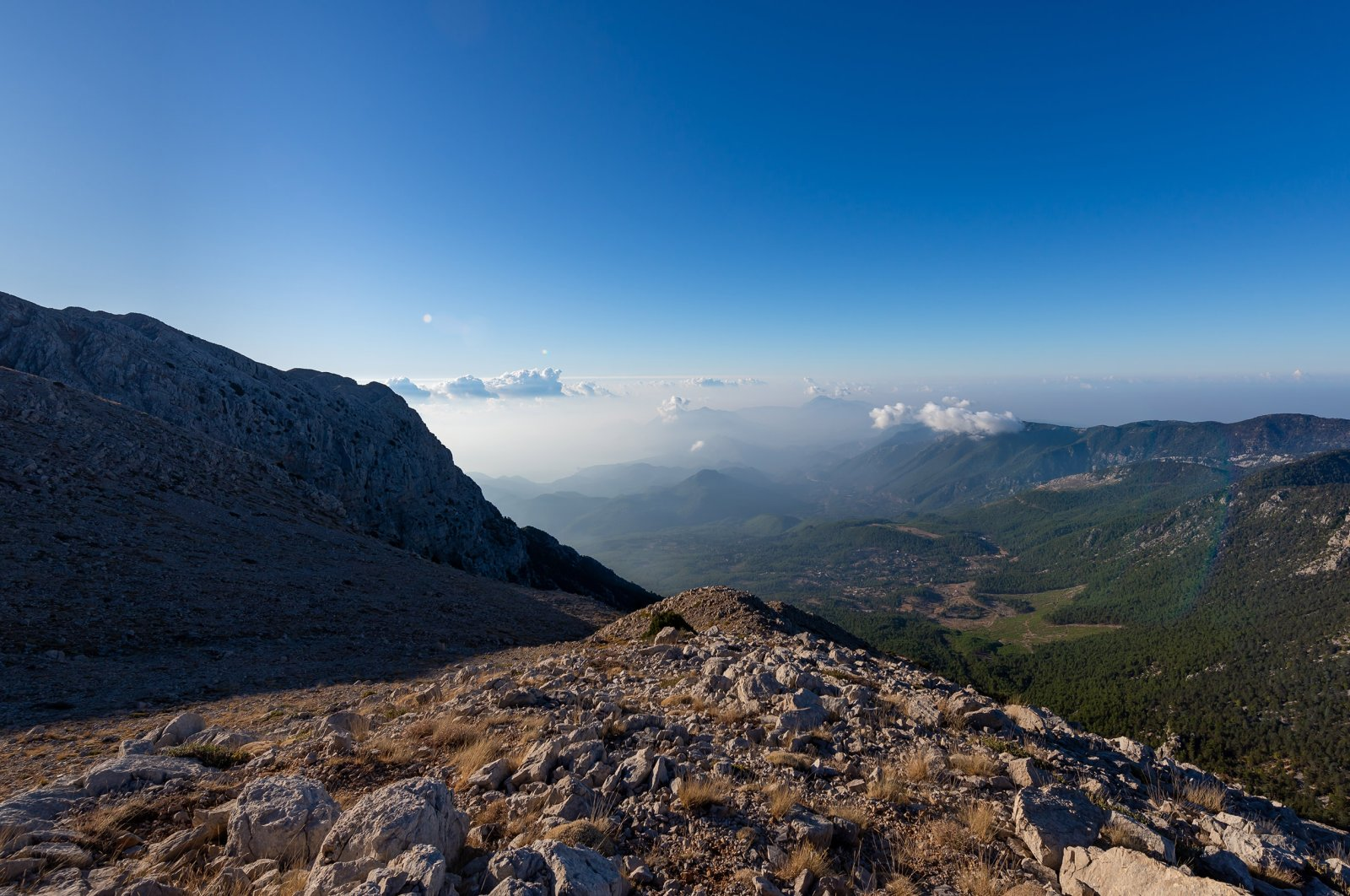 It's possible to go trekking along the Lycian Way 11 months of the year, thanks to the mild climate. (Shutterstock Photo)