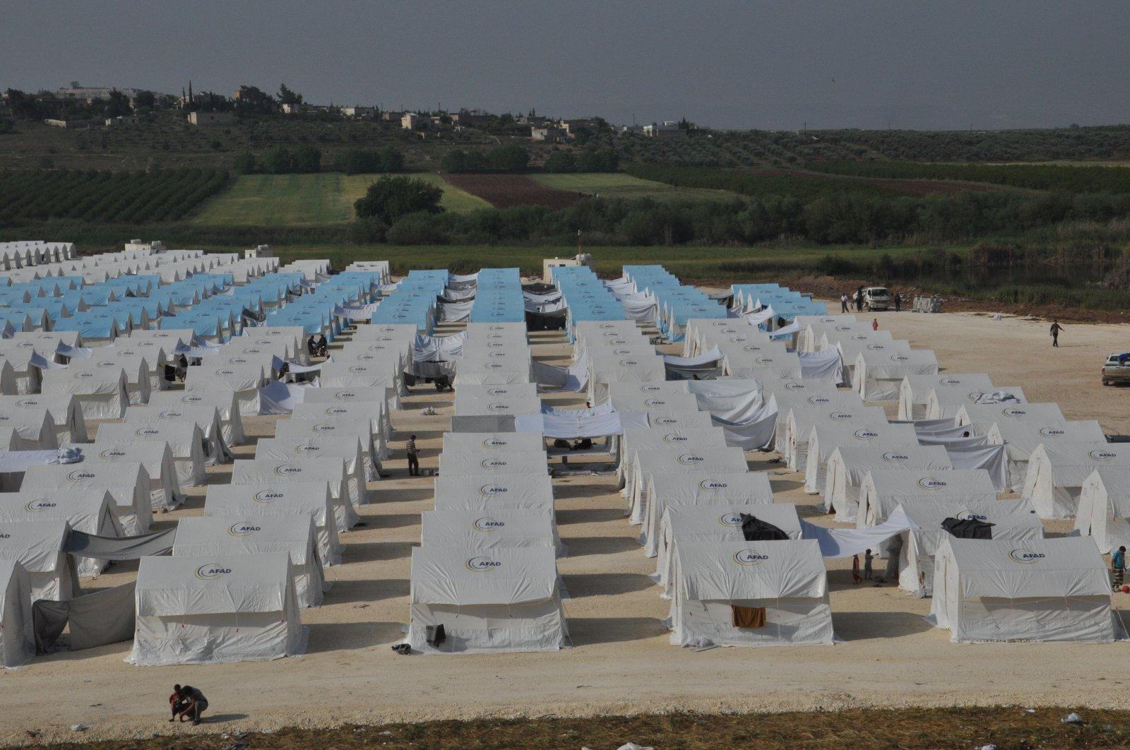 AFAD refugee camp in Syria's Afrin province (IHA File Photo)