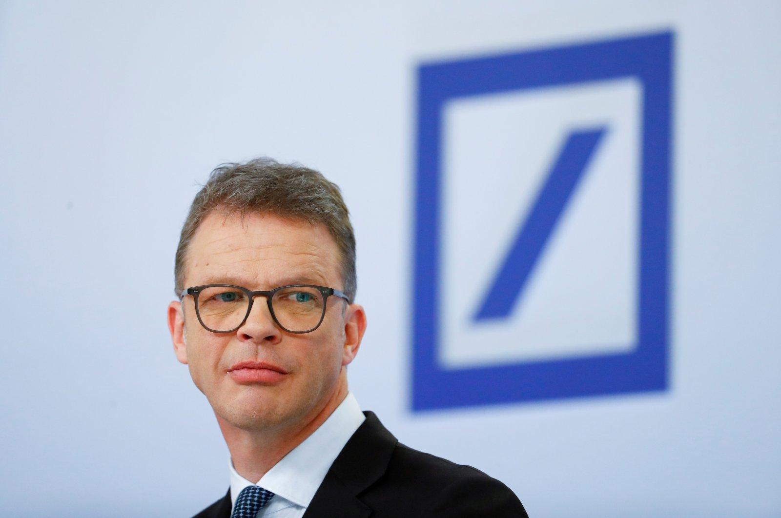 Christian Sewing, CEO of Deutsche Bank AG, in Frankfurt, Germany, Jan. 30, 2020. (Reuters Photo)