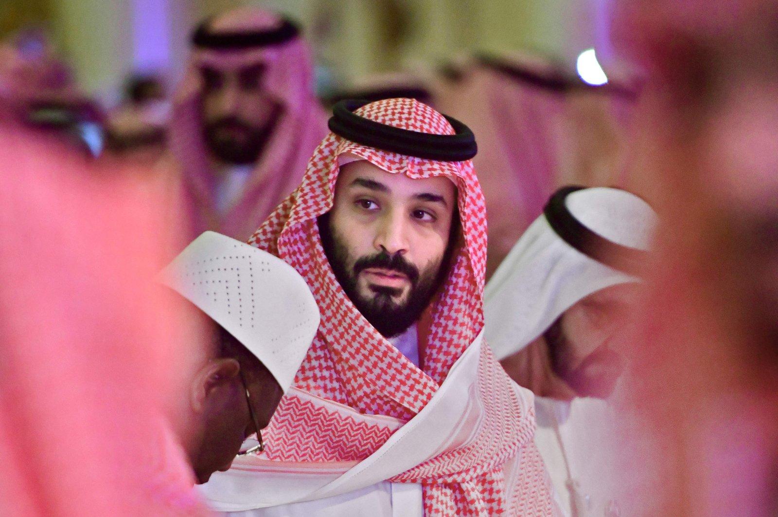 Saudi Crown Prince Mohammed bin Salman arrives at the Future Investment Initiative (FII) conference in the capital Riyadh, Saudi Arabia, Oct. 24, 2018. (AFP Photo)