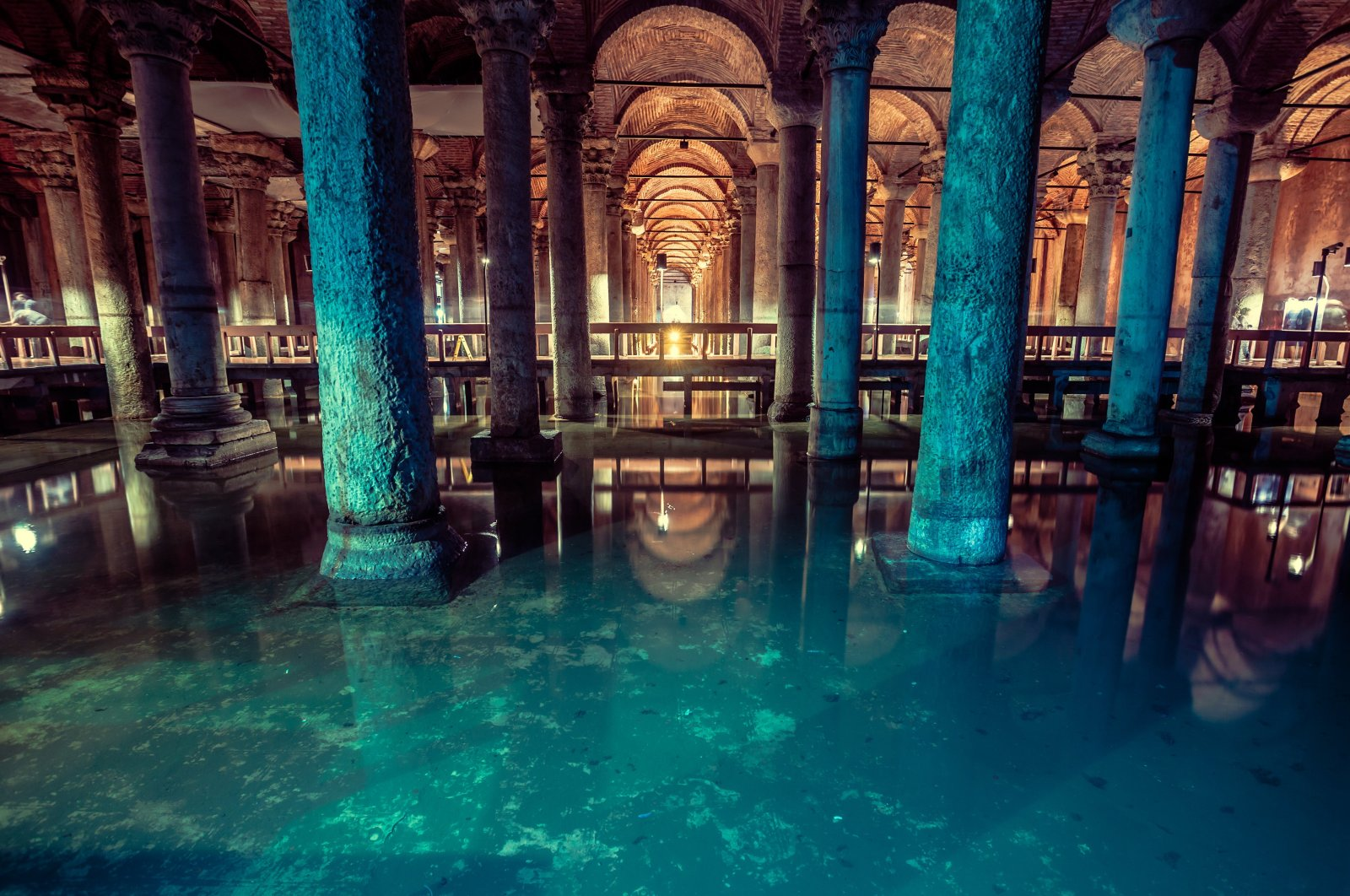 A view of the Basilica Cistern, in Istanbul, Turkey, Sept. 8, 2019. (iStock Photo)