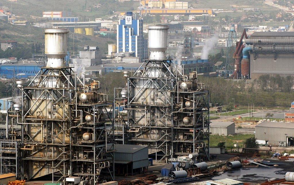 An industrial zone in northwestern Turkey's Kocaeli province, Jan. 16, 2011. (Sabah File Photo)