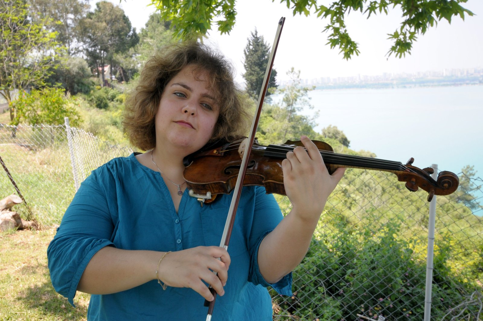 Hande Küden studied at the State Conservatory of Çukurova University before her training in Germany. (AA Photo)
