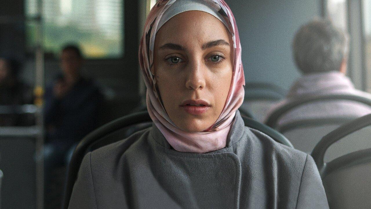 """Actress Öykü Karayel as Meryem in a scene from """"Ethos."""""""