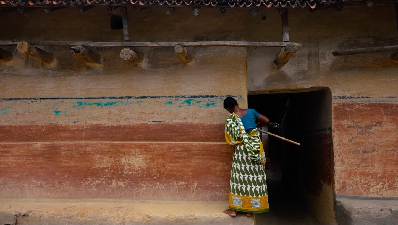 "Still shot from Prantik Narayan Basu's ""Rang Mahal"" (""Palace of Colors"")."