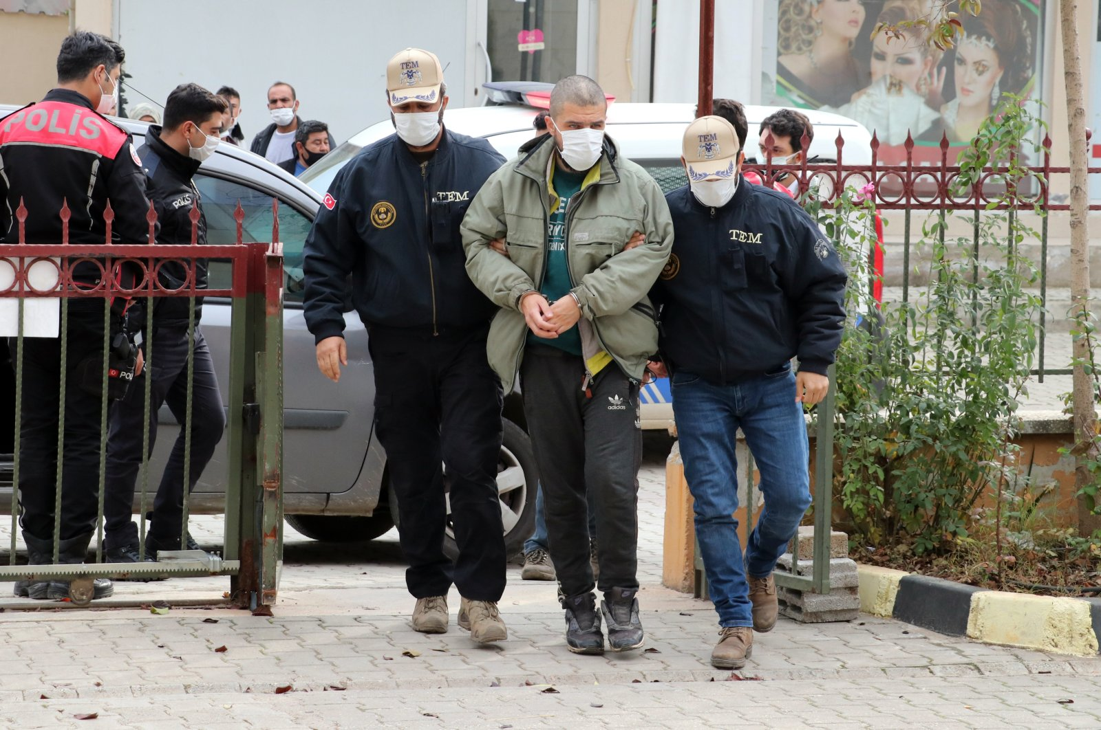 A French-origin terrorist was caught by Turkish security sources in southern Hatay province on Dec. 14, 2020 (AA Photo)