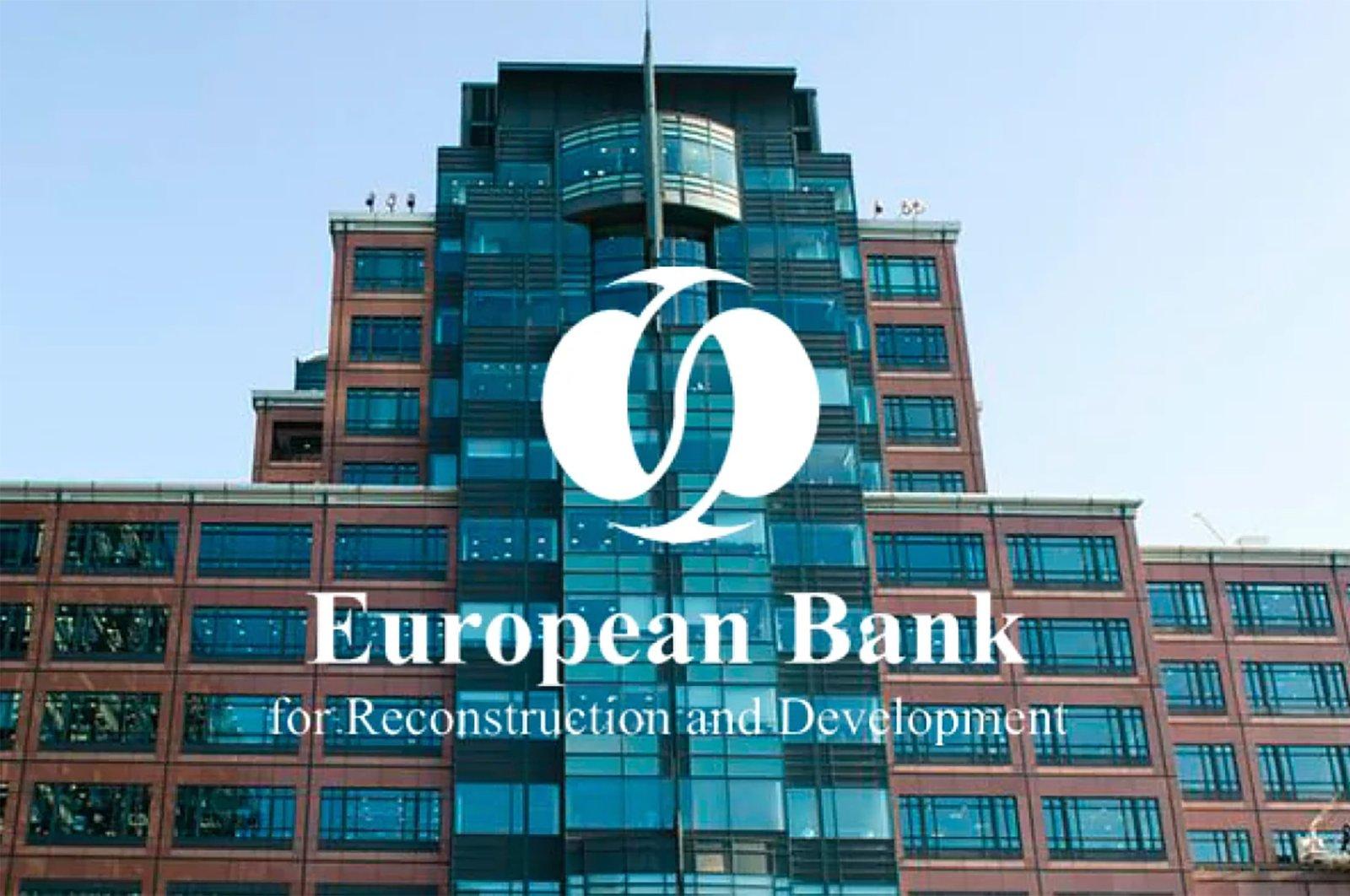 The European Bank for Reconstruction and Development (EBRD) building in London, U.K., June 18, 2020. (Sabah File Photo)
